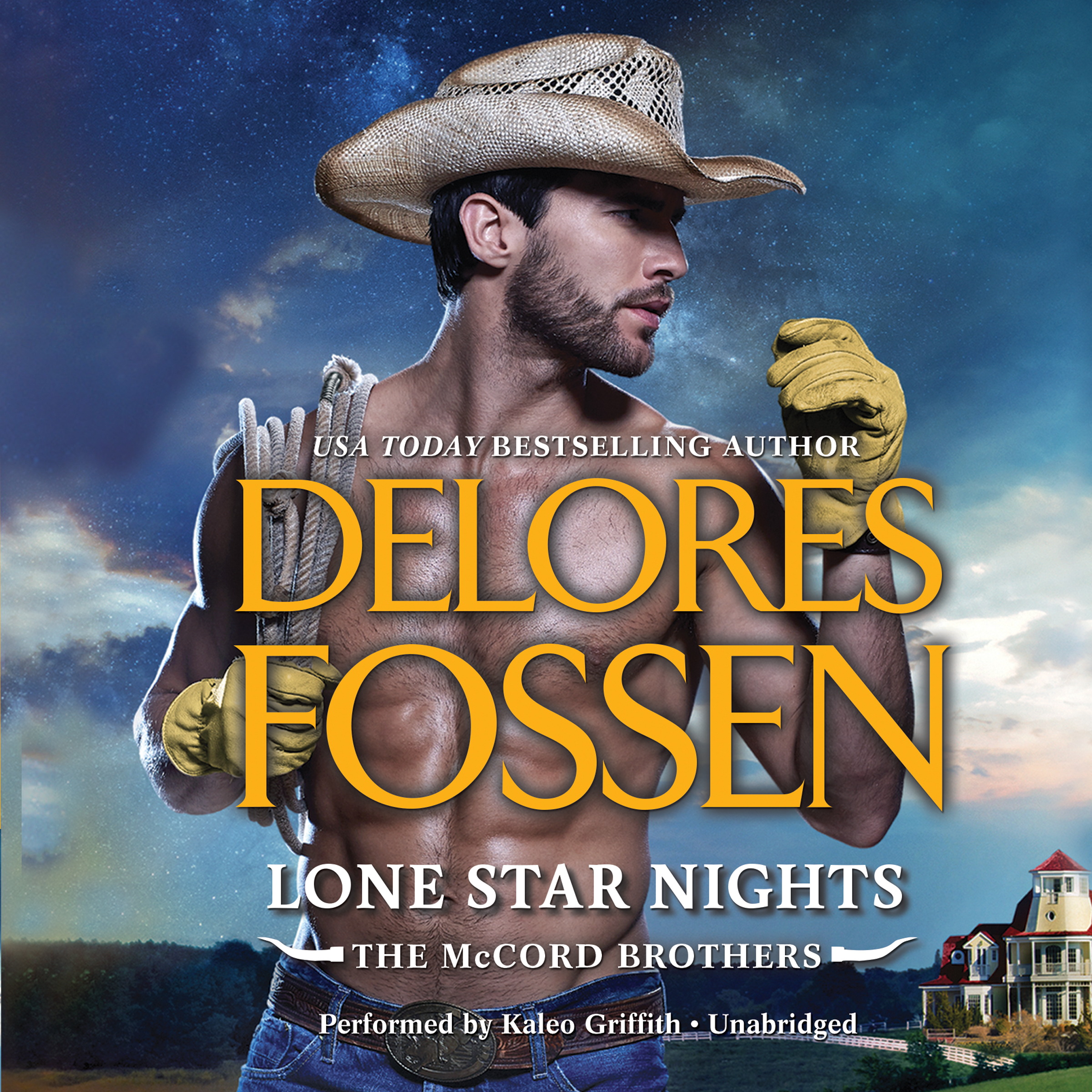 Printable Lone Star Nights Audiobook Cover Art