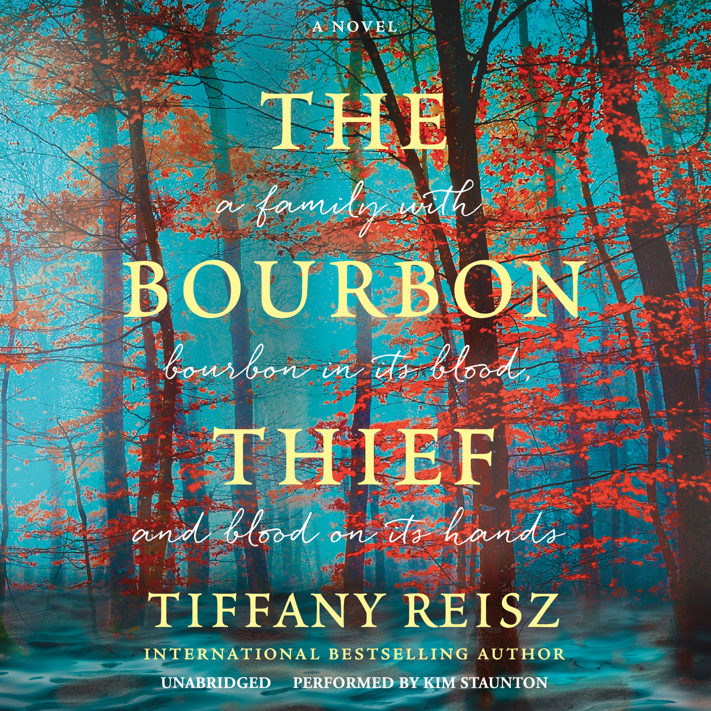 Printable The Bourbon Thief Audiobook Cover Art