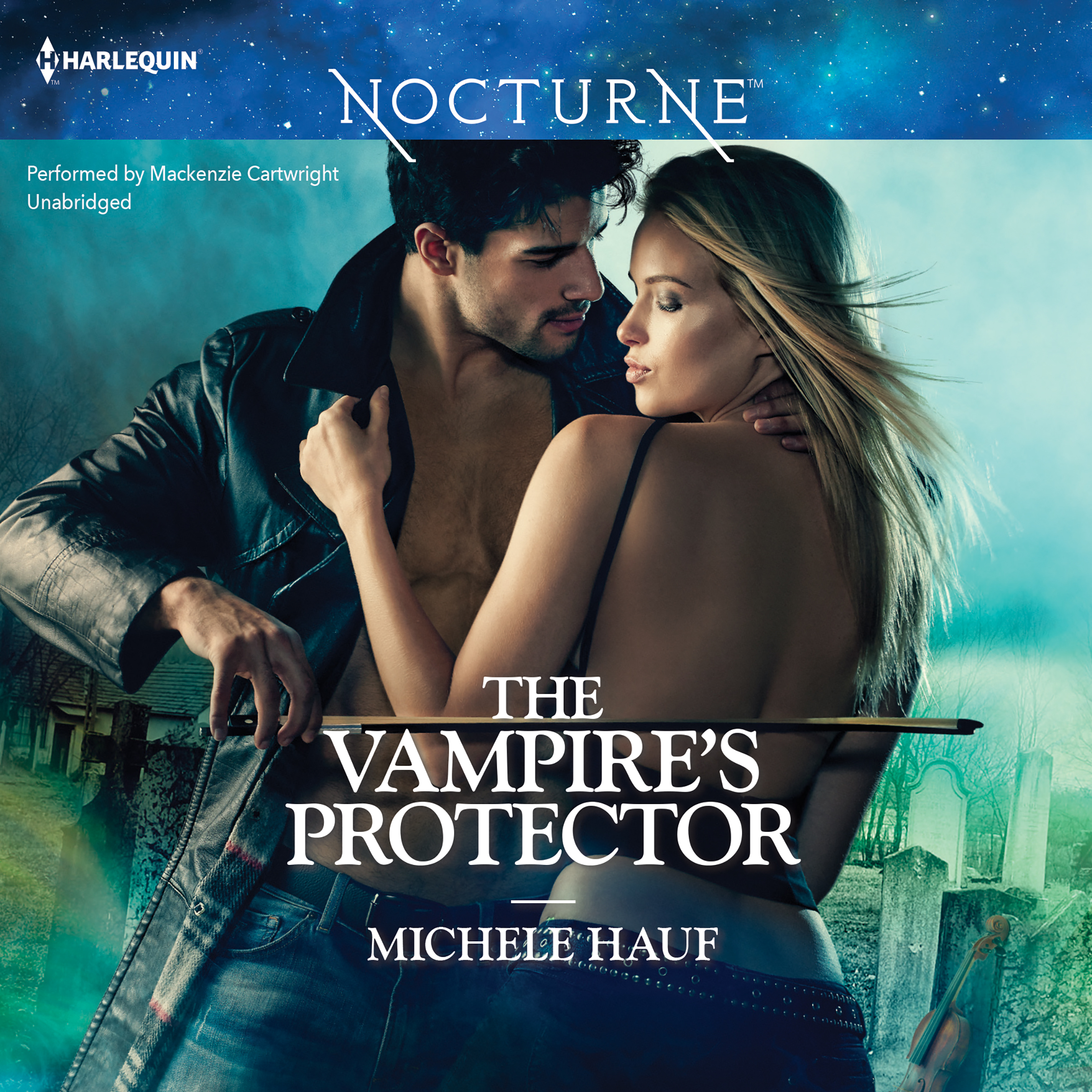 Printable The Vampire's Protector Audiobook Cover Art