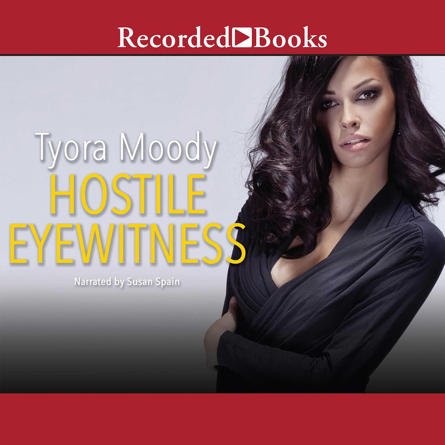 Printable Hostile Eyewitness Audiobook Cover Art