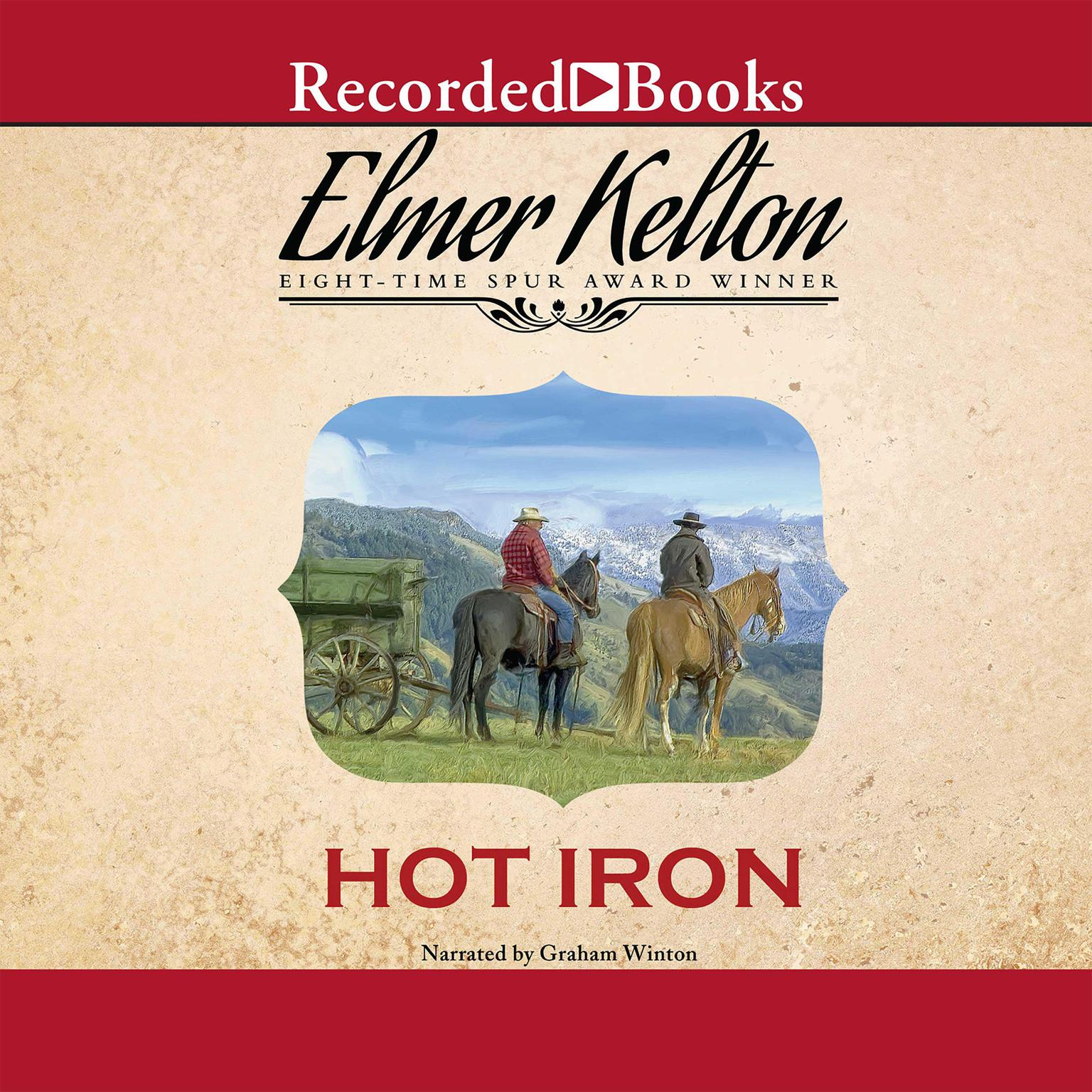 Printable Hot Iron Audiobook Cover Art