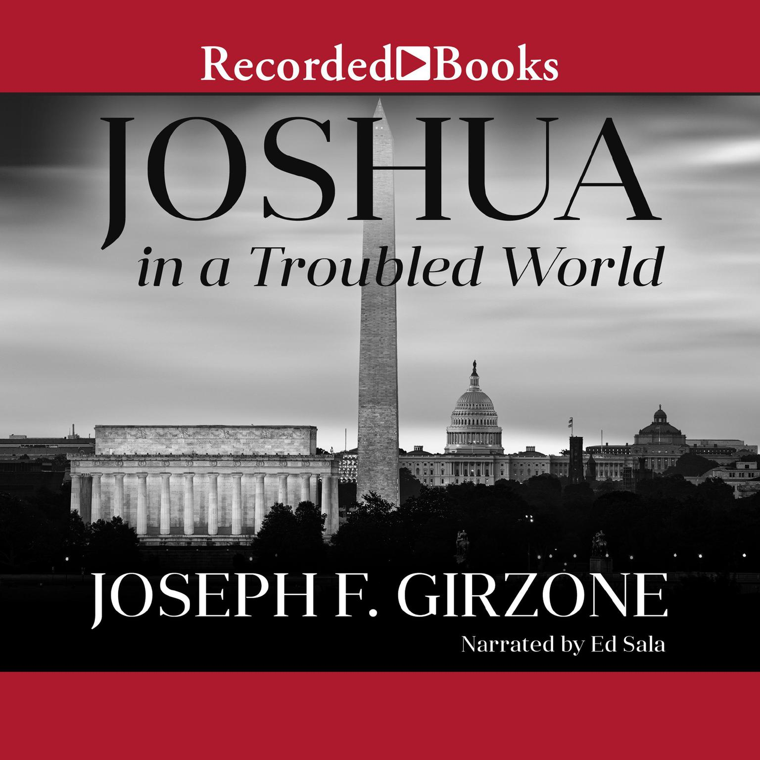 Printable Joshua in a Troubled World: A Story for Our Time Audiobook Cover Art
