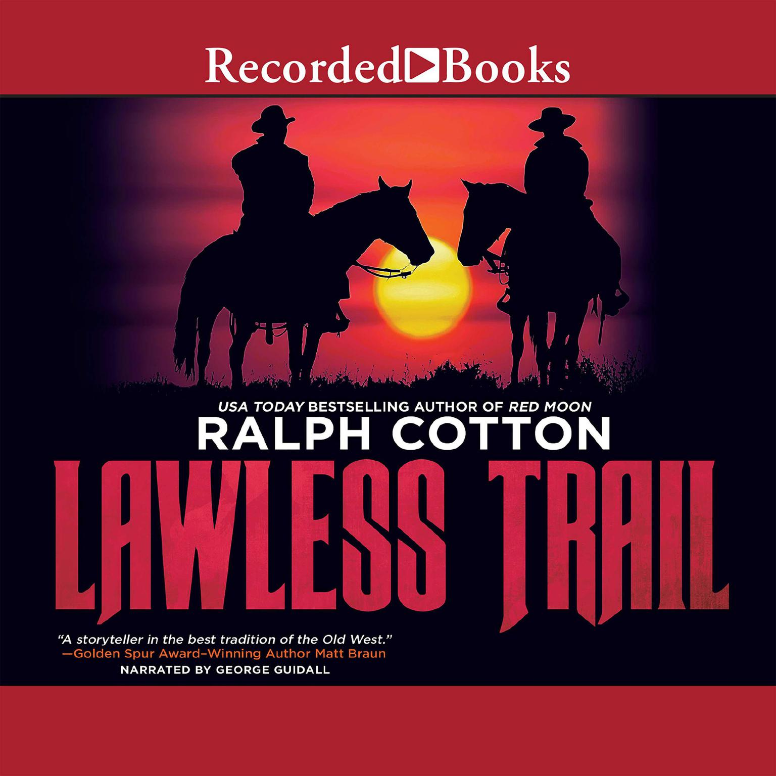 Printable Lawless Trail Audiobook Cover Art
