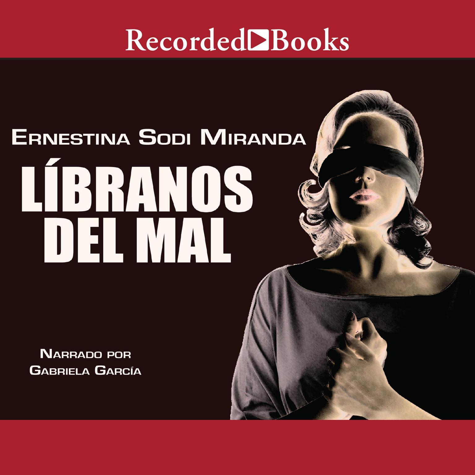 Printable Libranos del mal Audiobook Cover Art