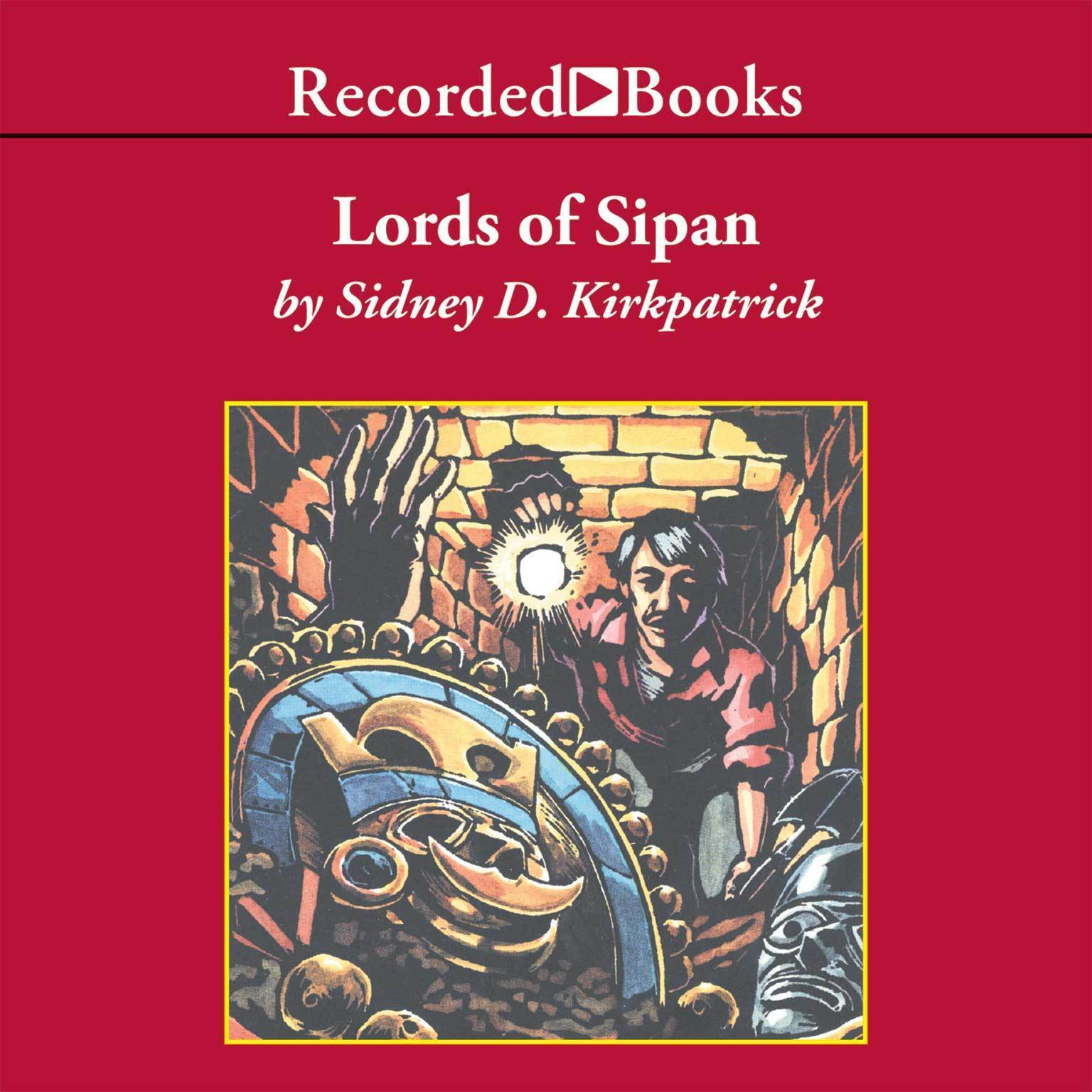 Printable Lords of Sipan Audiobook Cover Art