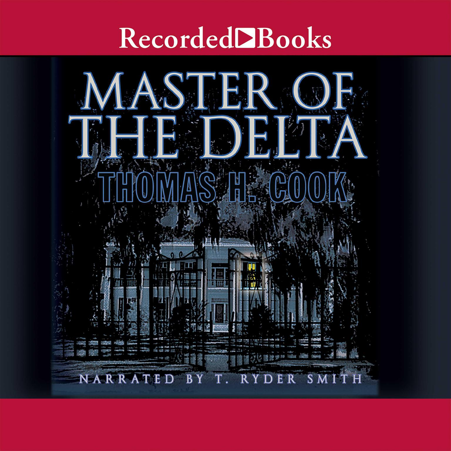 Printable Master of the Delta Audiobook Cover Art