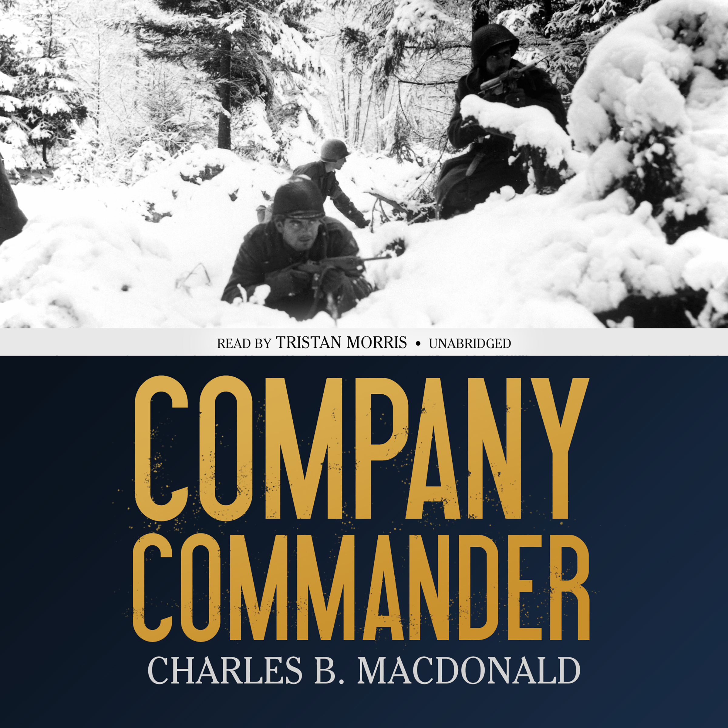 Printable Company Commander Audiobook Cover Art