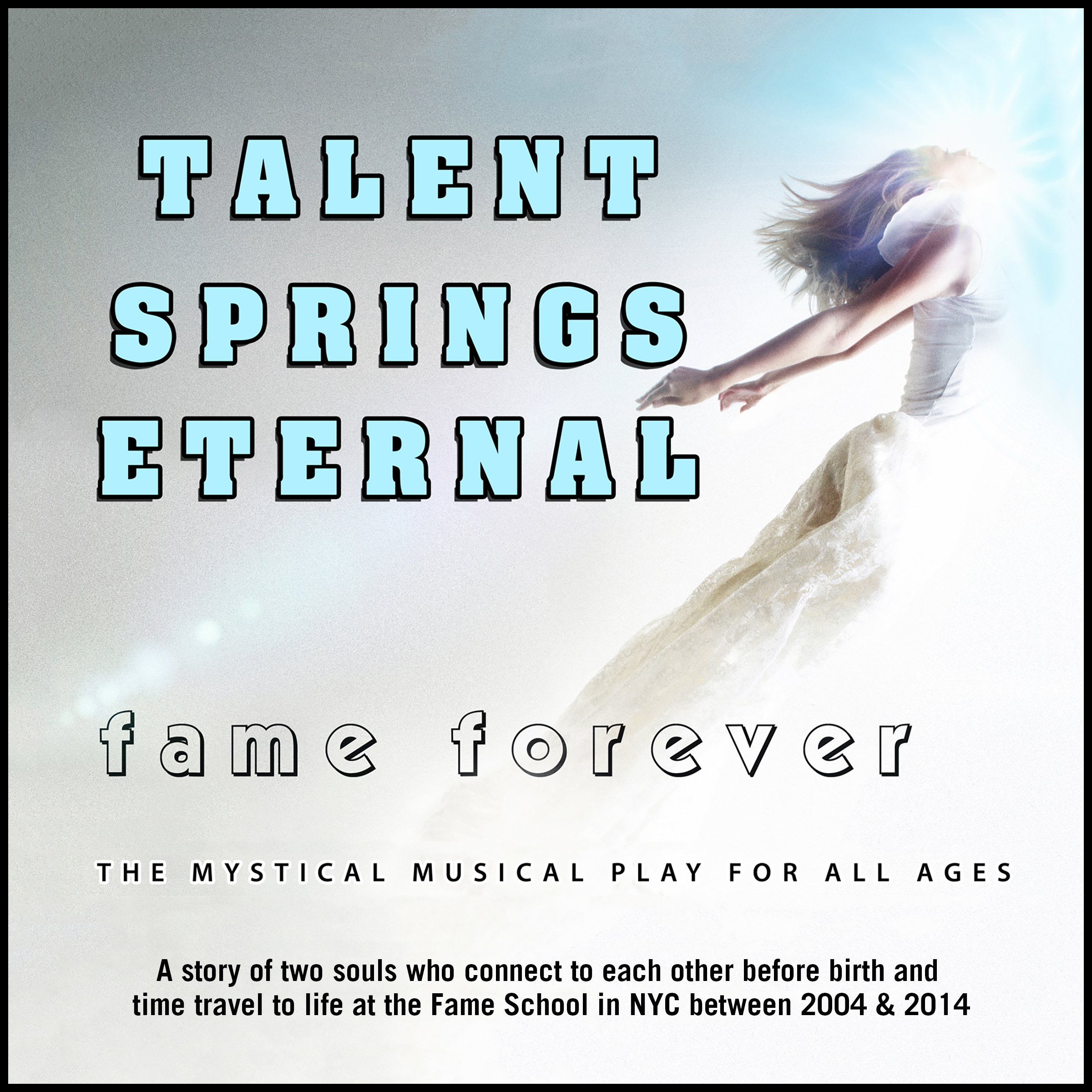 Printable Talent Springs Eternal: Fame Forever Audiobook Cover Art