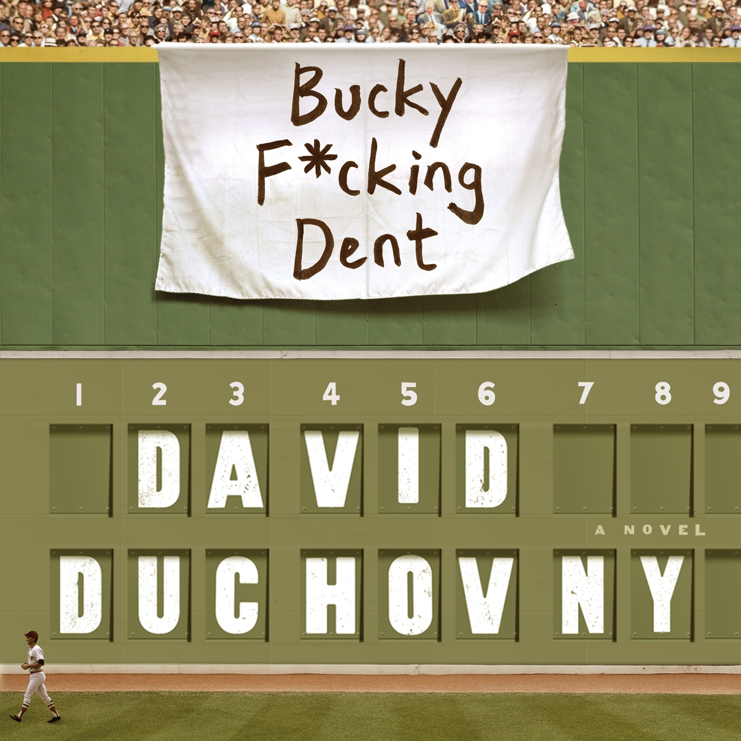 Printable Bucky F*cking Dent: A Novel Audiobook Cover Art