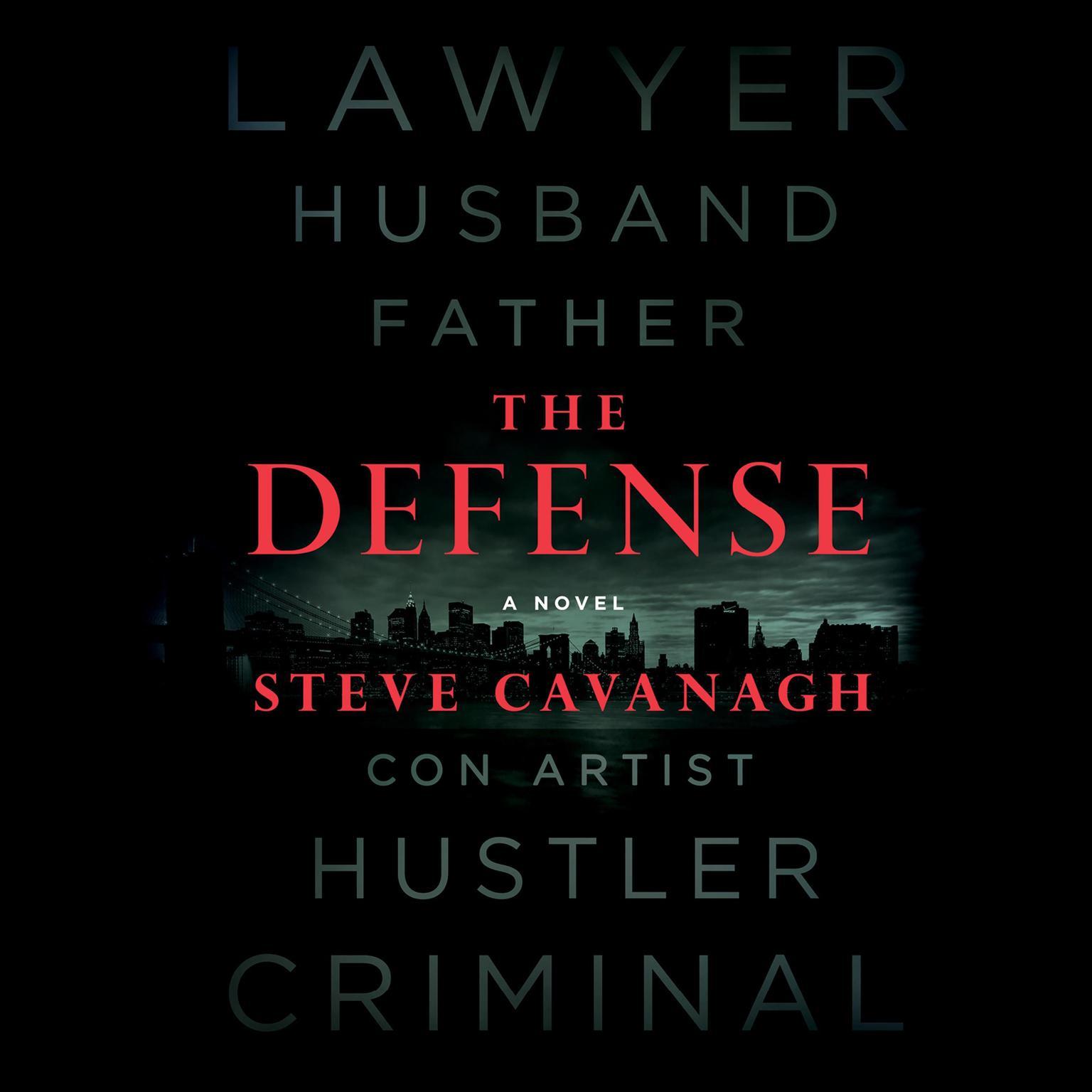 Printable The Defense: A Novel Audiobook Cover Art