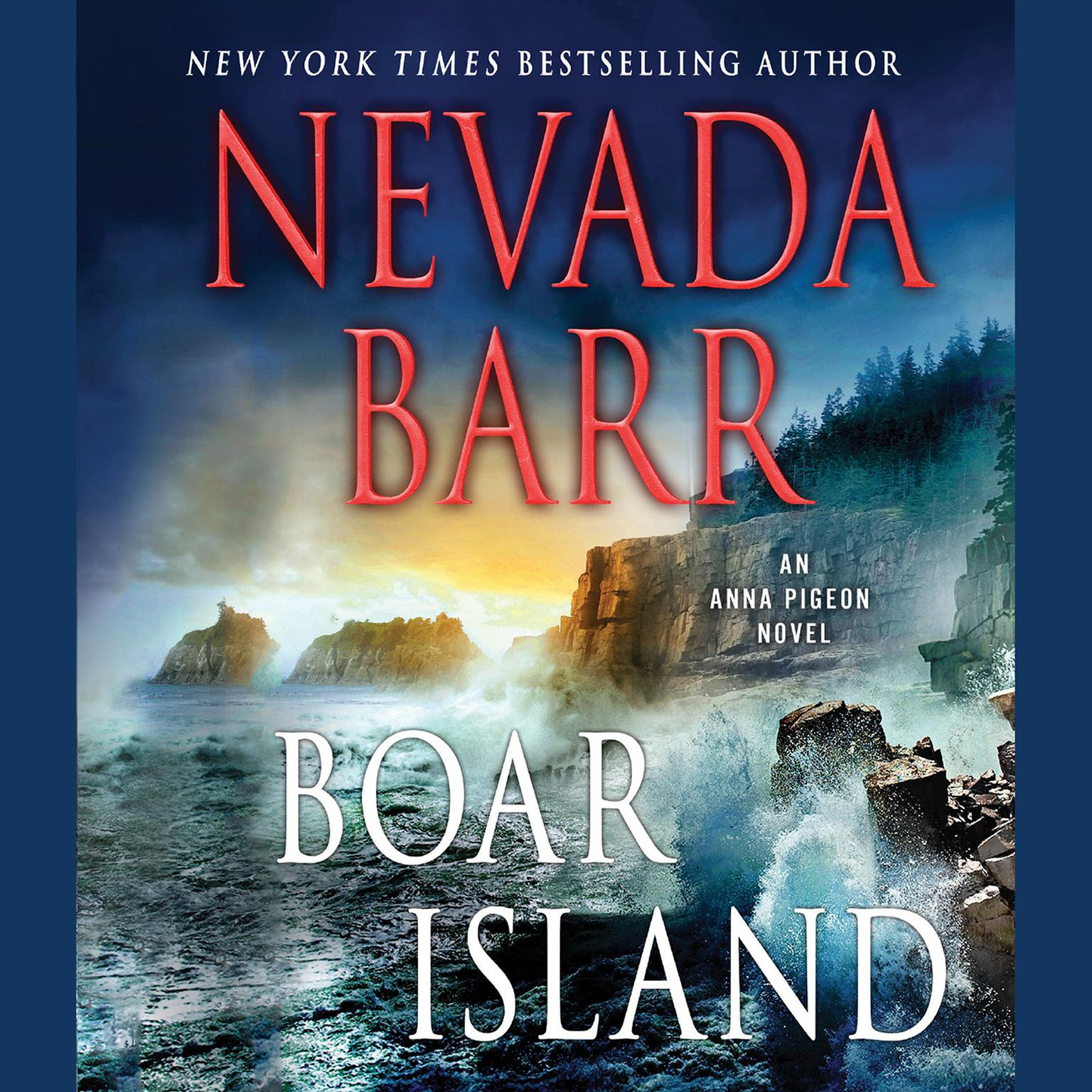 Printable Boar Island: An Anna Pigeon Novel Audiobook Cover Art