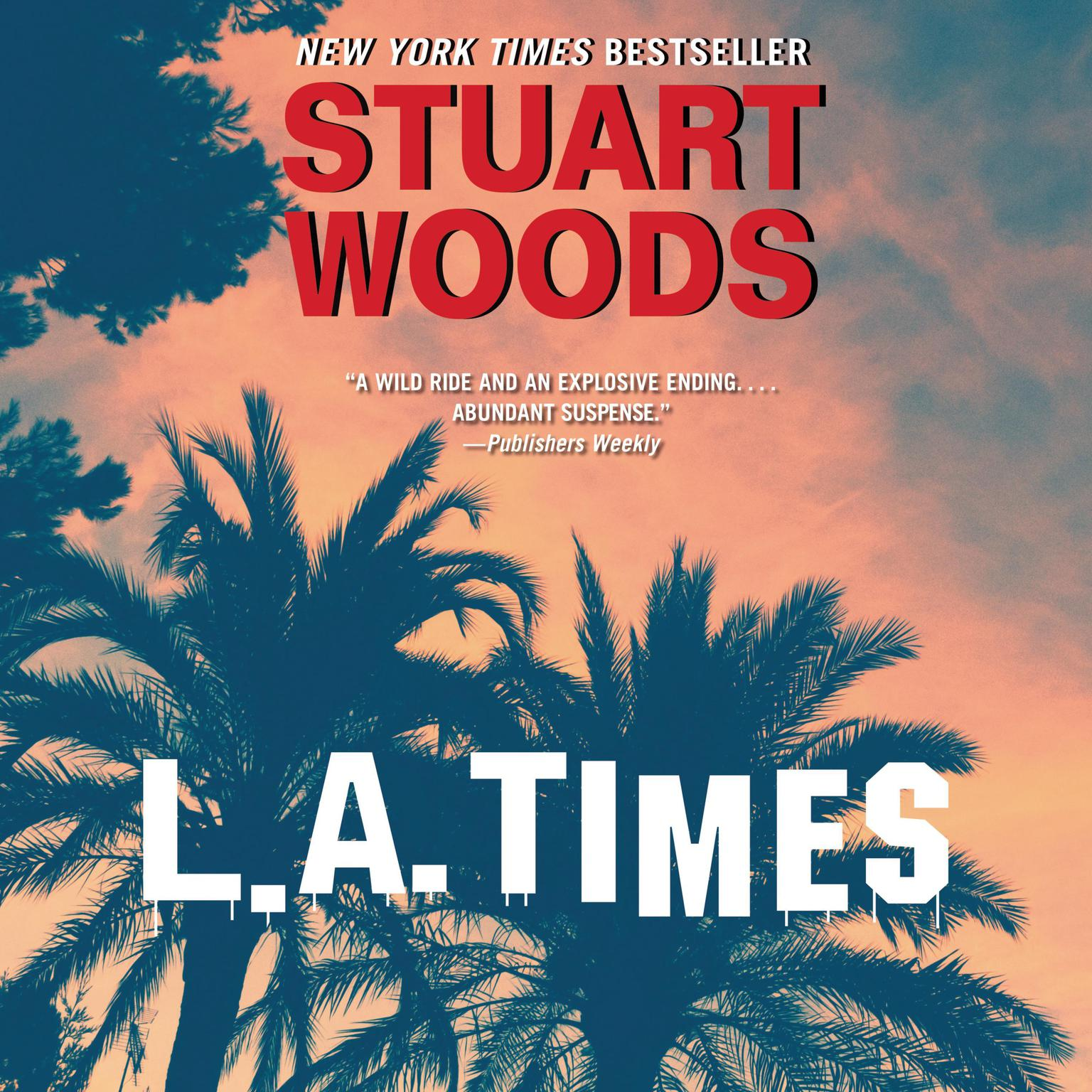 Printable L. A. Times: A Novel Audiobook Cover Art