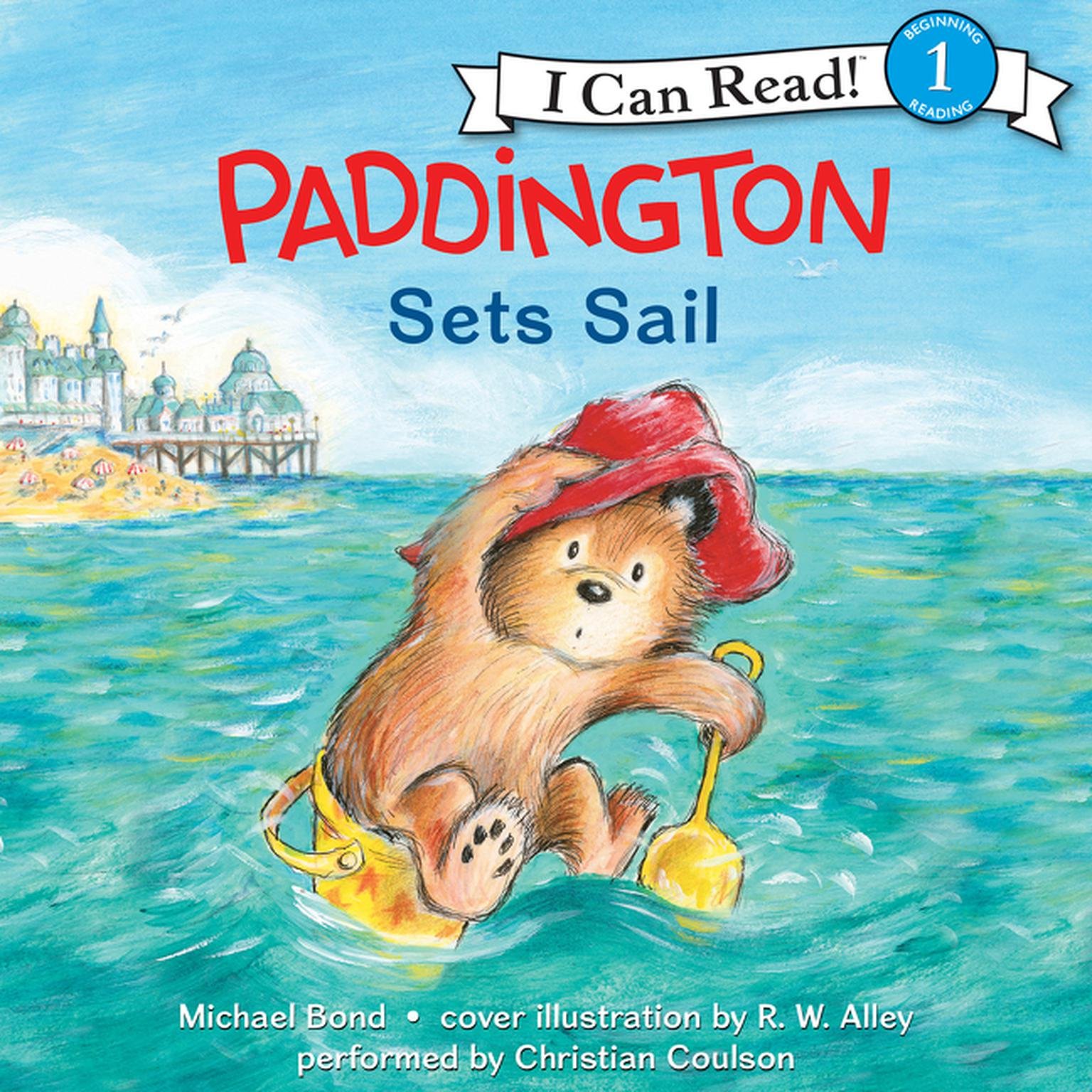Printable Paddington Sets Sail Audiobook Cover Art