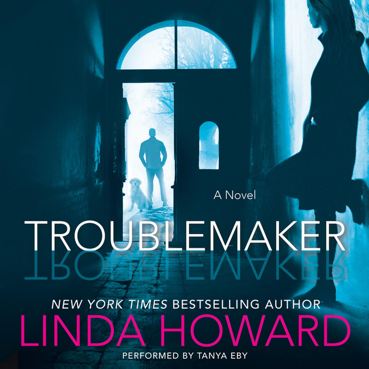 Printable Troublemaker: A Novel Audiobook Cover Art