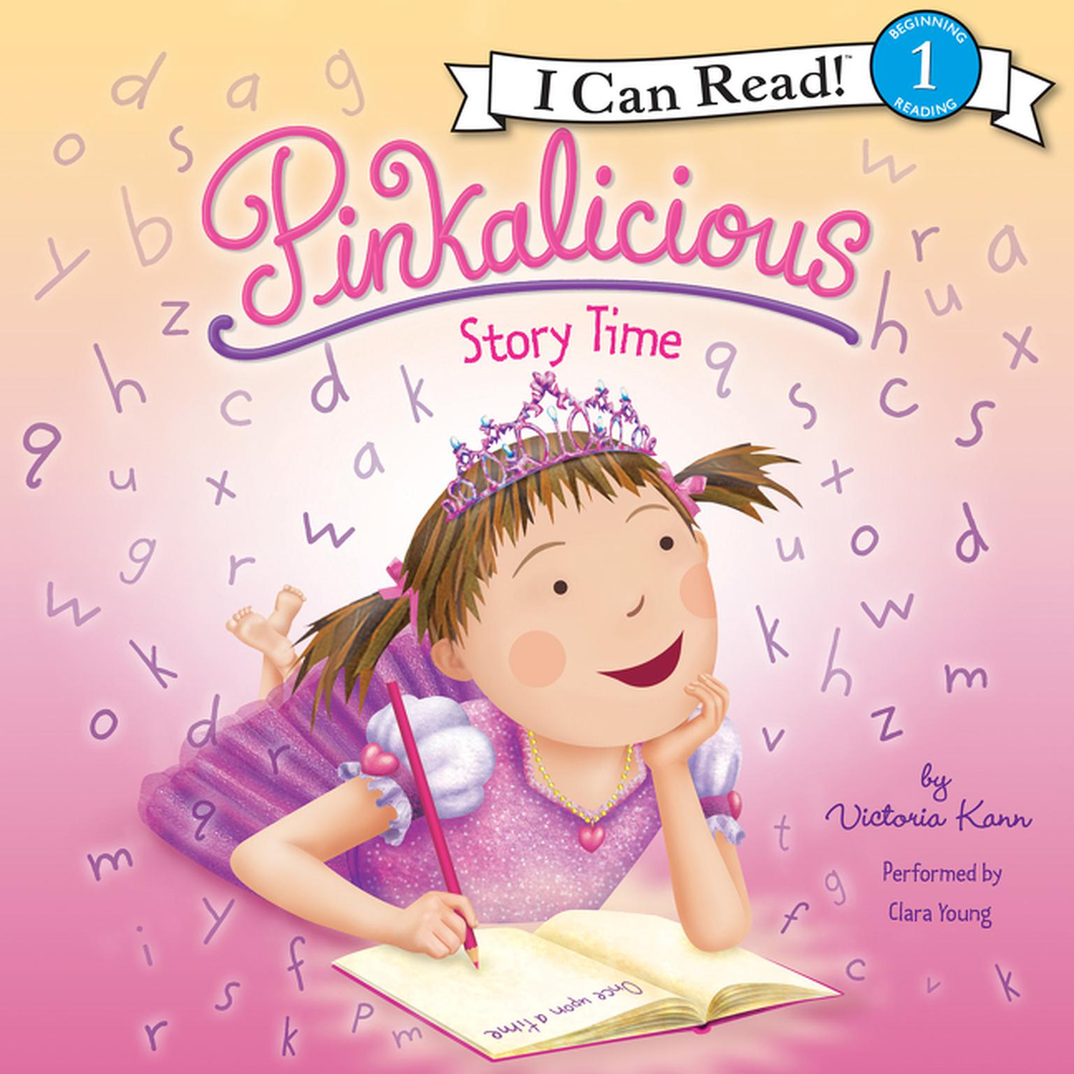 Printable Pinkalicious: Story Time Audiobook Cover Art