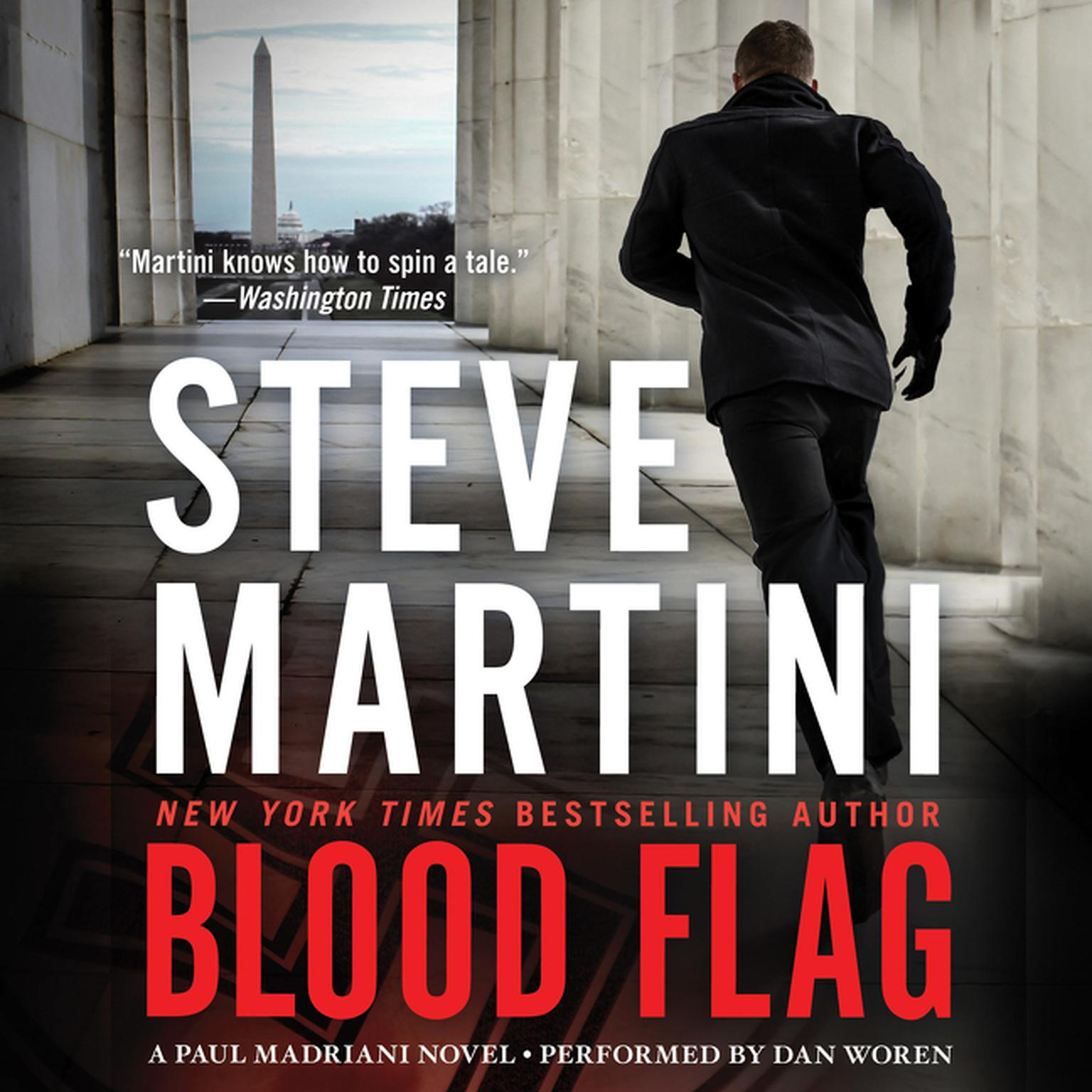 Printable Blood Flag: A Paul Madriani Novel Audiobook Cover Art