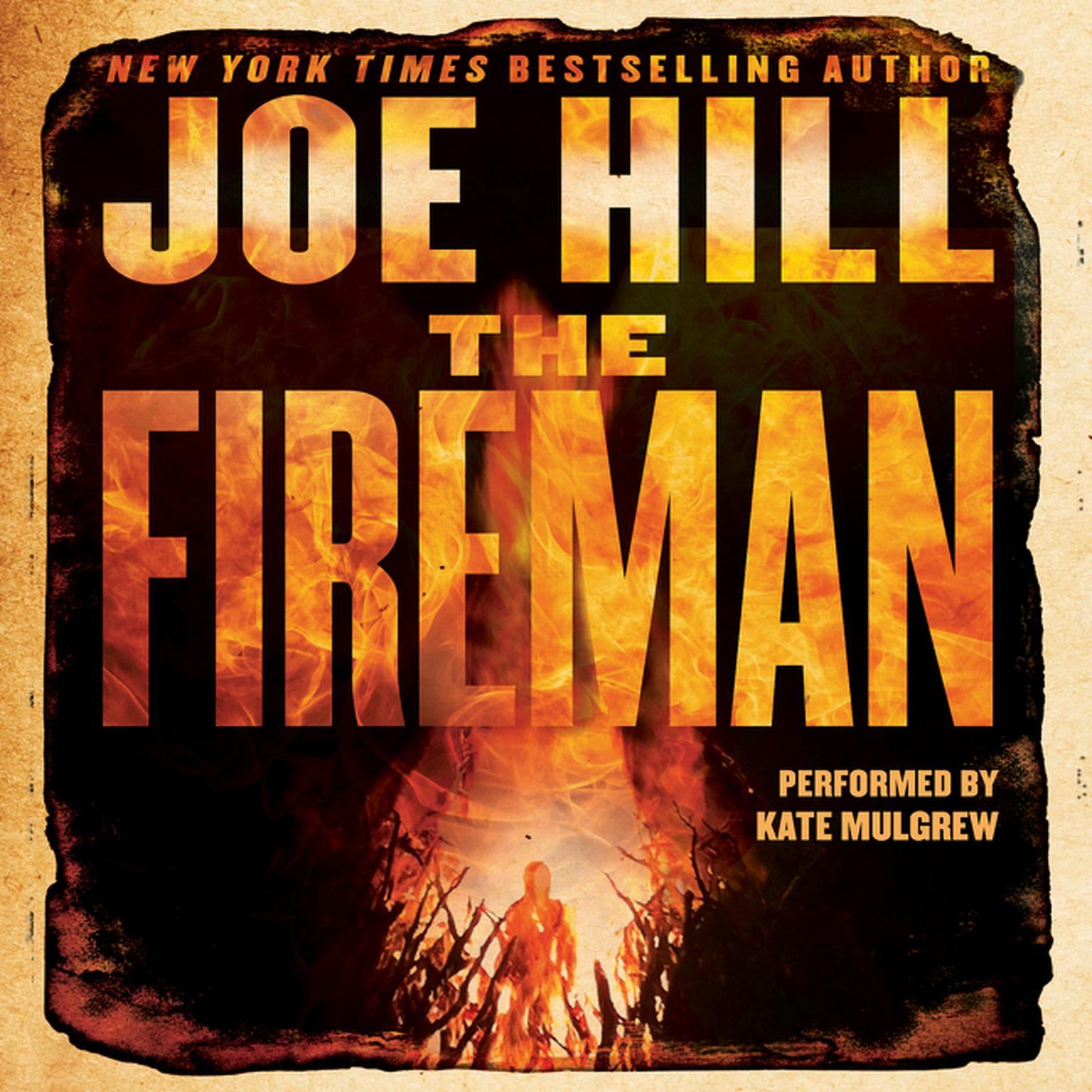 Printable The Fireman: A Novel Audiobook Cover Art