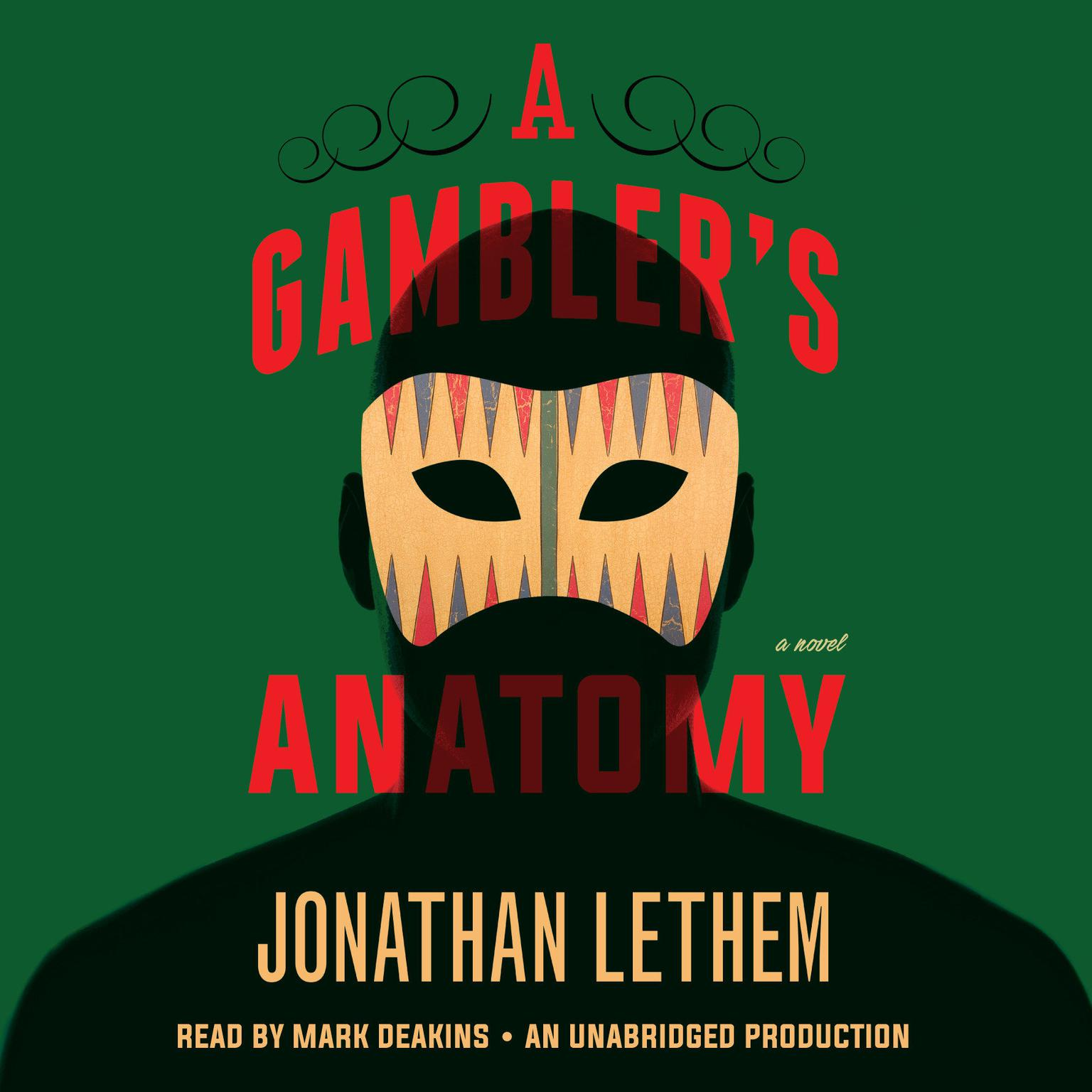 Printable A Gambler's Anatomy: A Novel Audiobook Cover Art