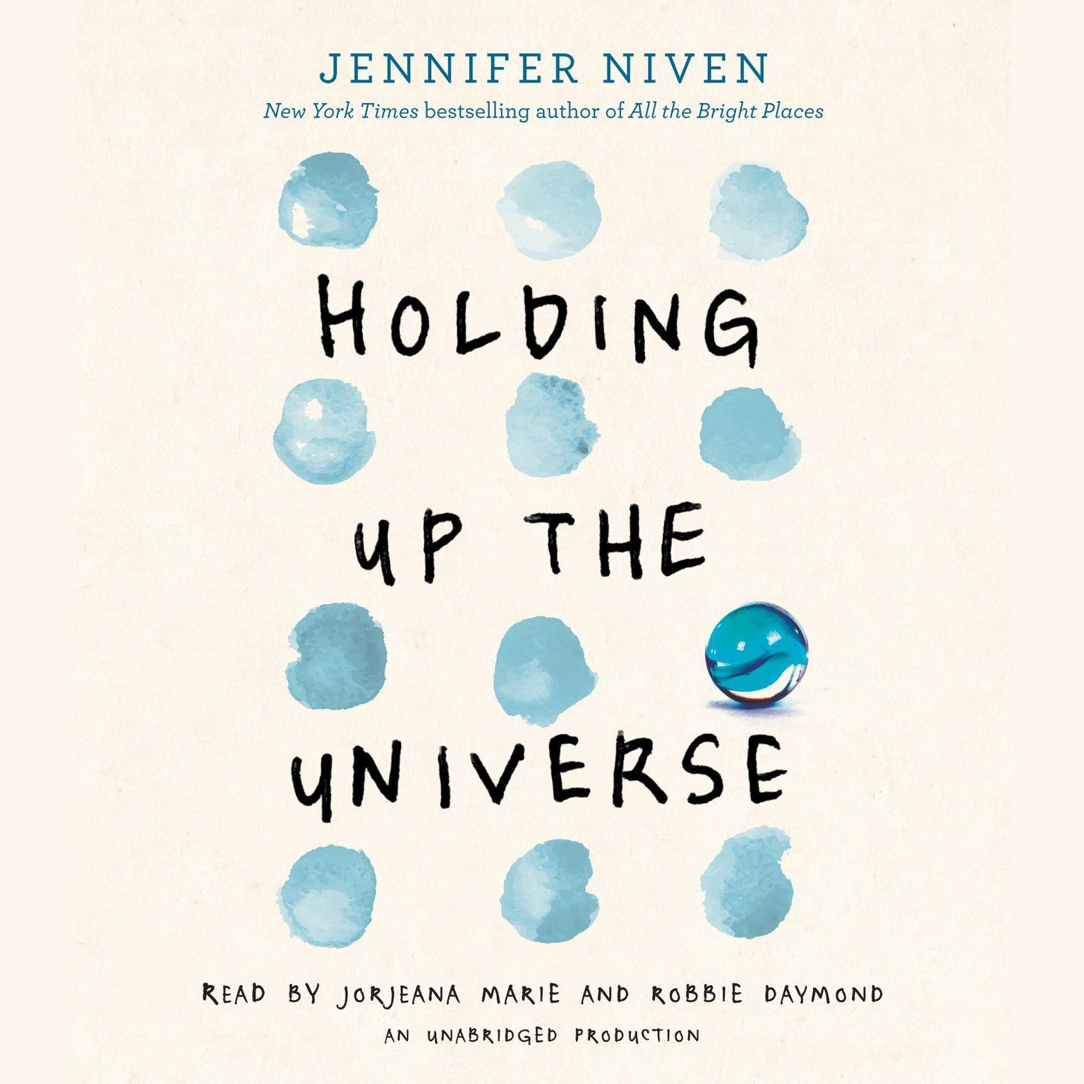 Printable Holding Up the Universe Audiobook Cover Art