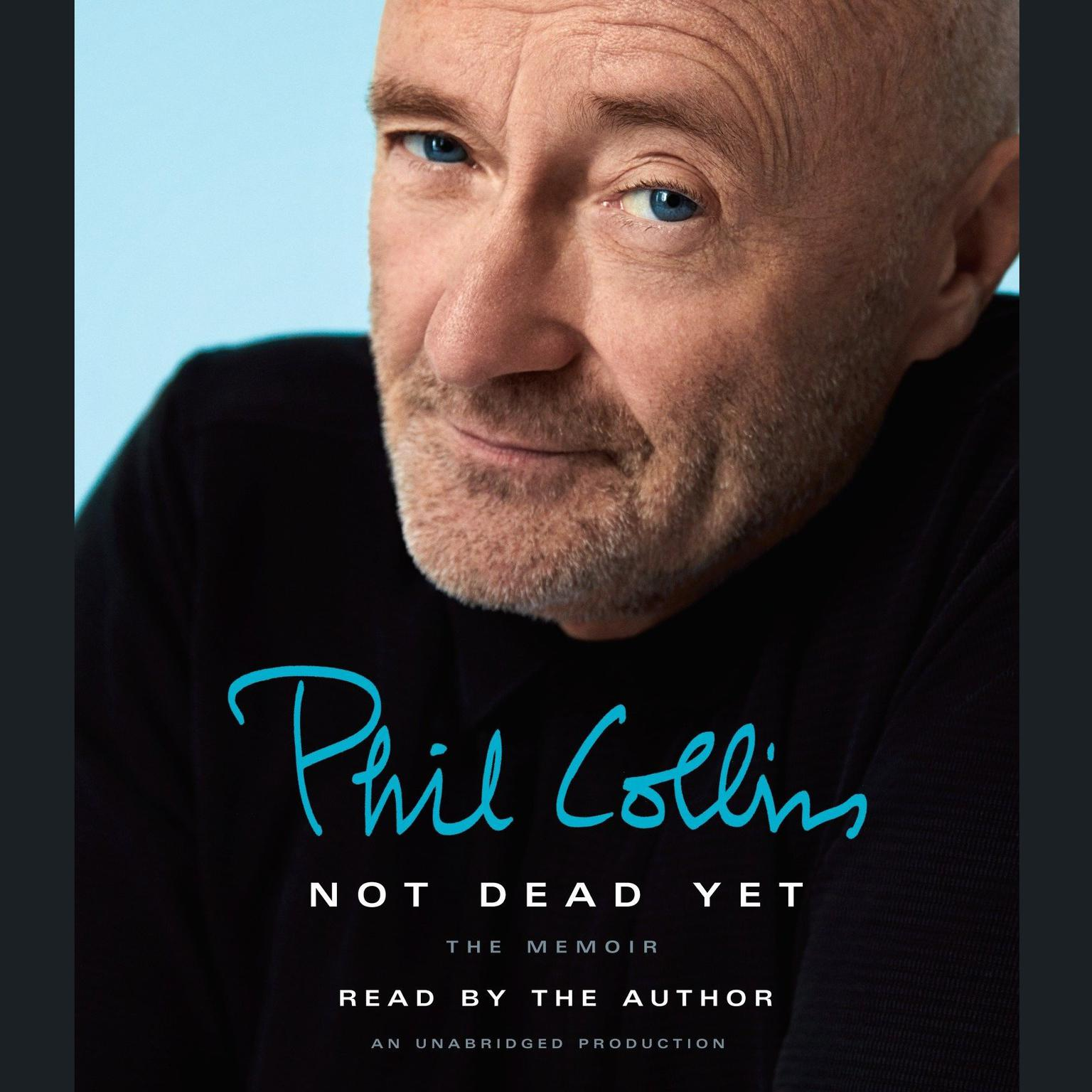 Printable Not Dead Yet: The Memoir Audiobook Cover Art