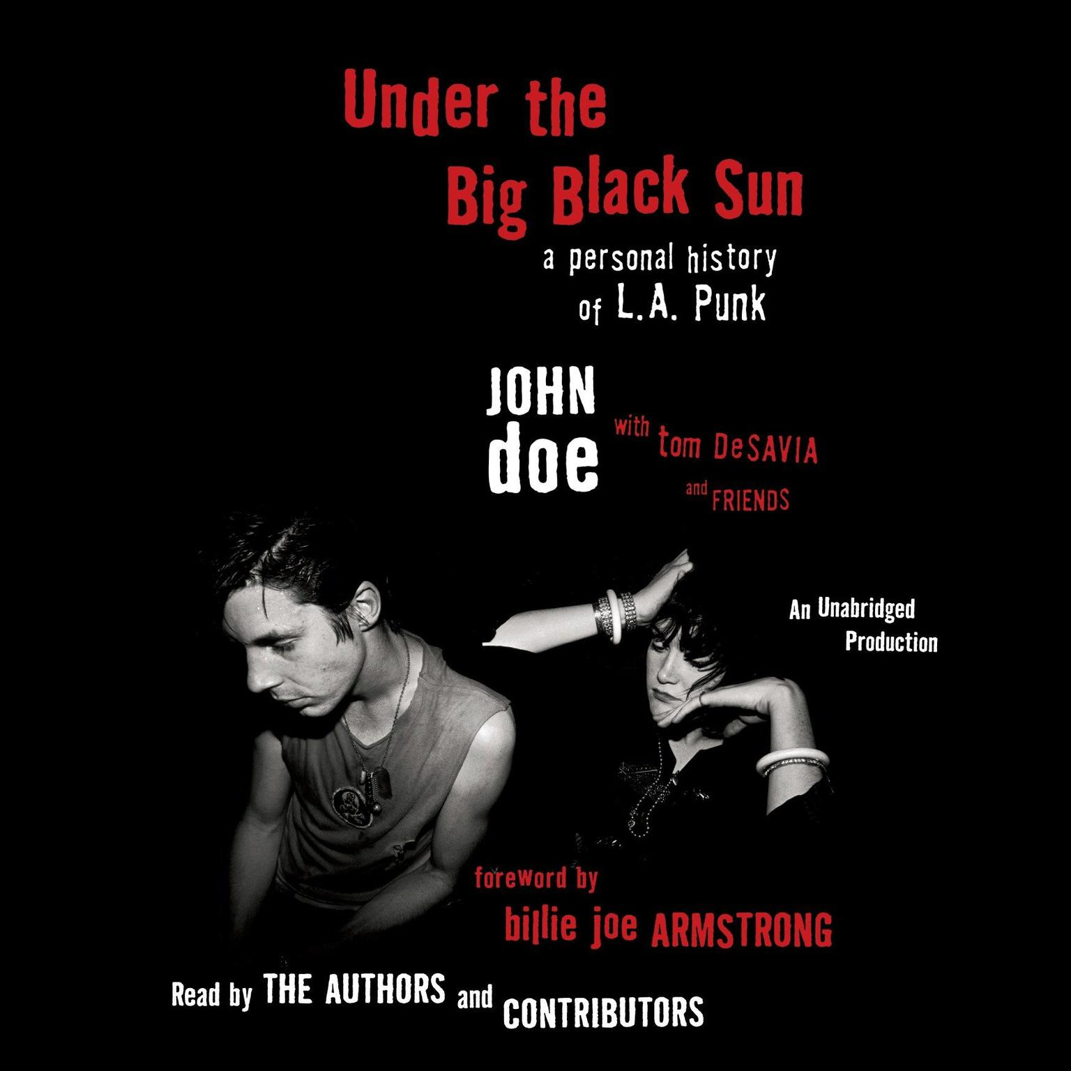 Printable Under the Big Black Sun: A Personal History of L.A. Punk Audiobook Cover Art