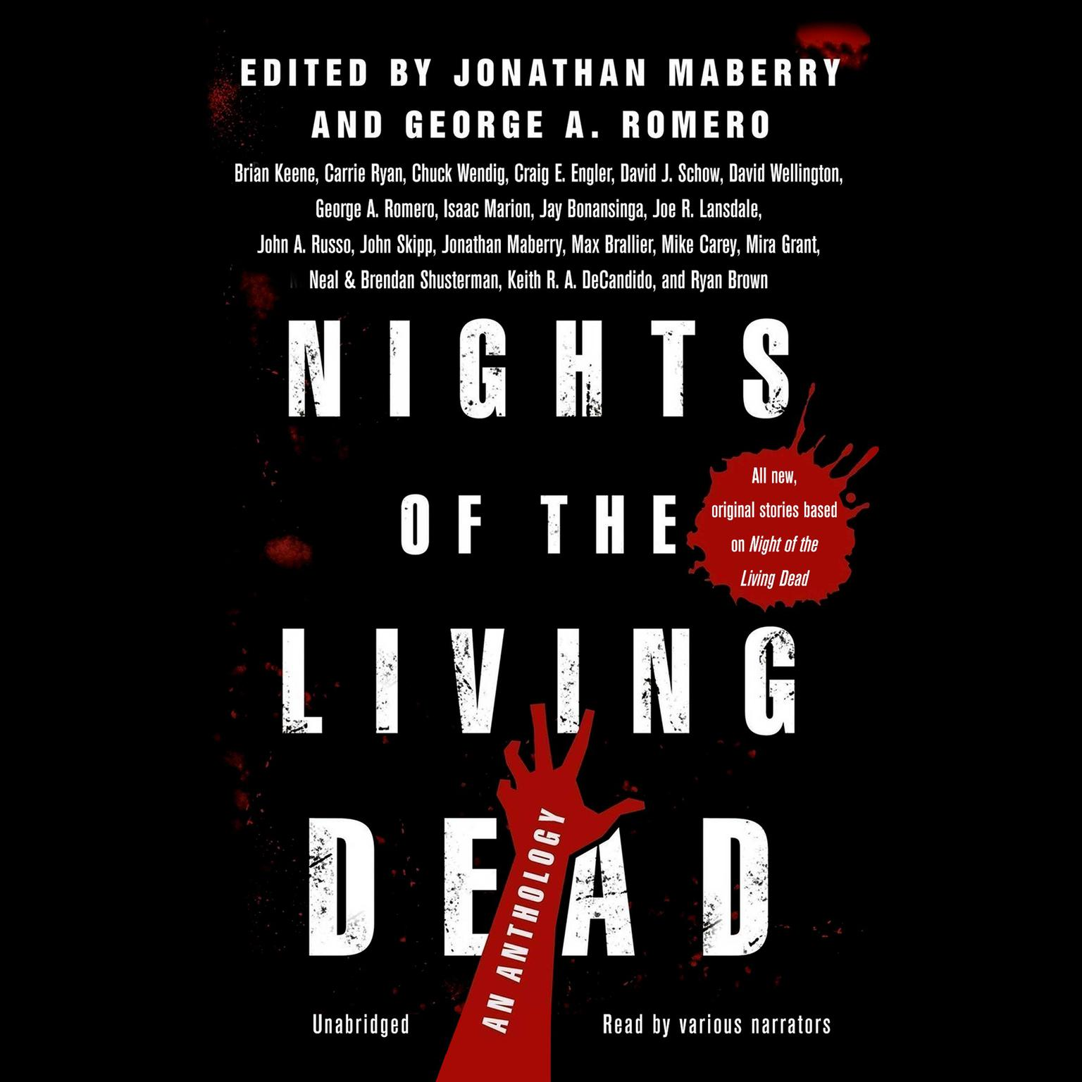 Printable Nights of the Living Dead: An Anthology Audiobook Cover Art