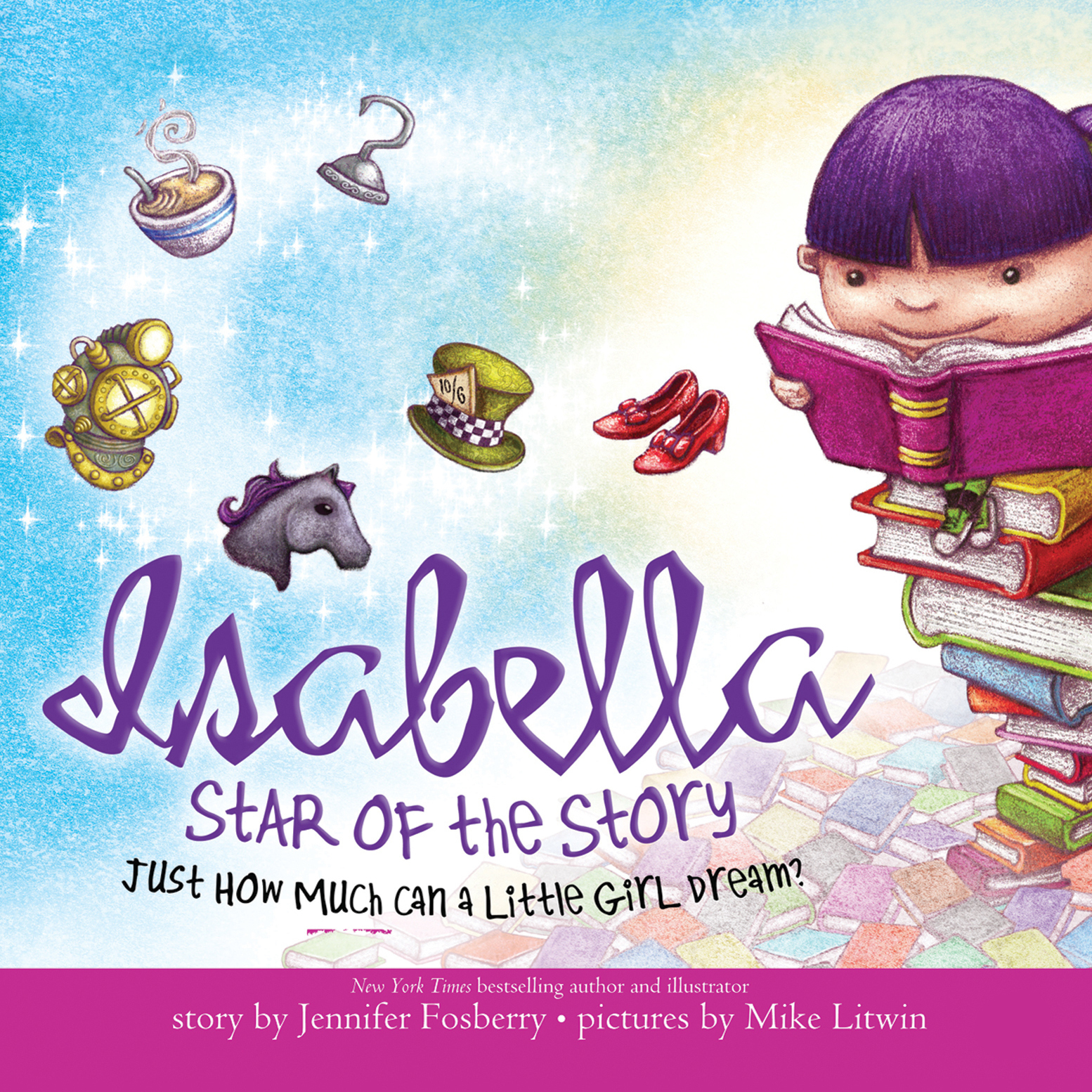 Printable Isabella: Star of the Story: Just How Much Can a Little Girl Dream? Audiobook Cover Art