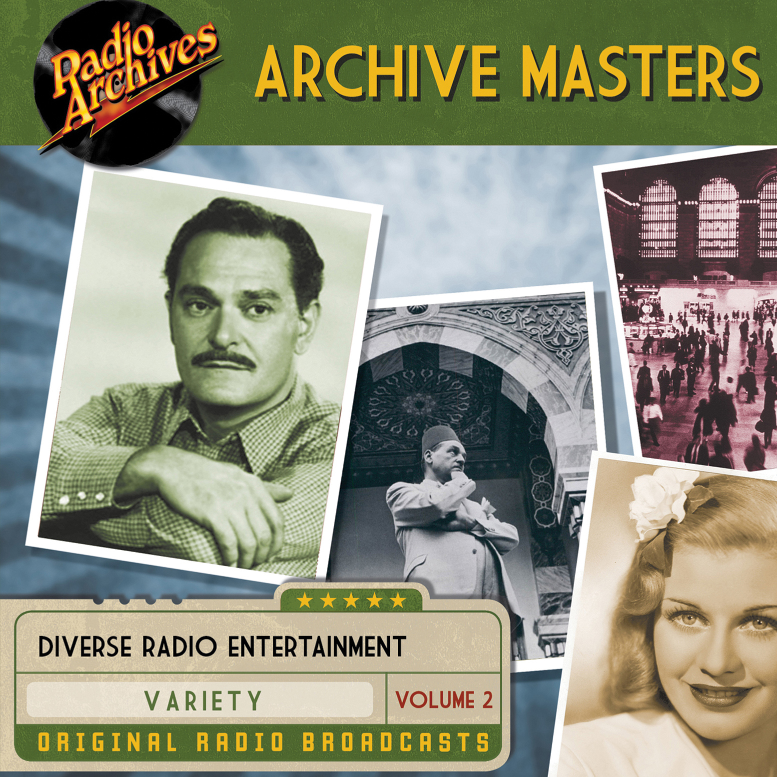 Printable Archive Masters, Volume 2 Audiobook Cover Art