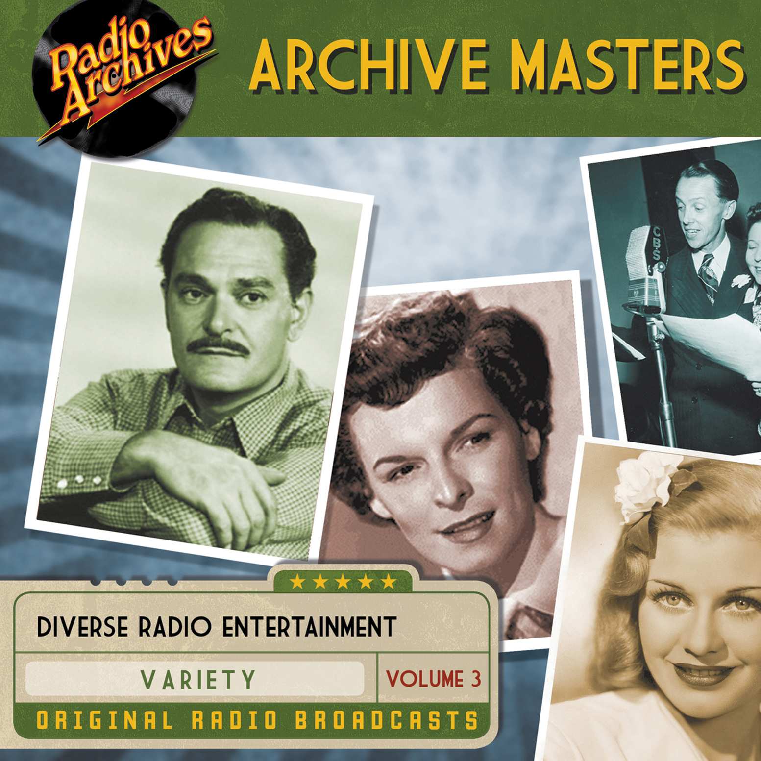 Printable Archive Masters, Volume 3 Audiobook Cover Art