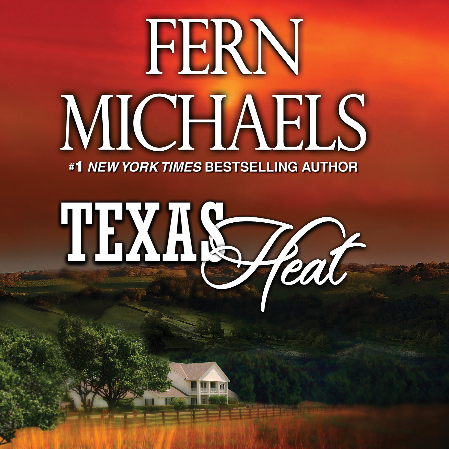 Printable Texas Heat Audiobook Cover Art