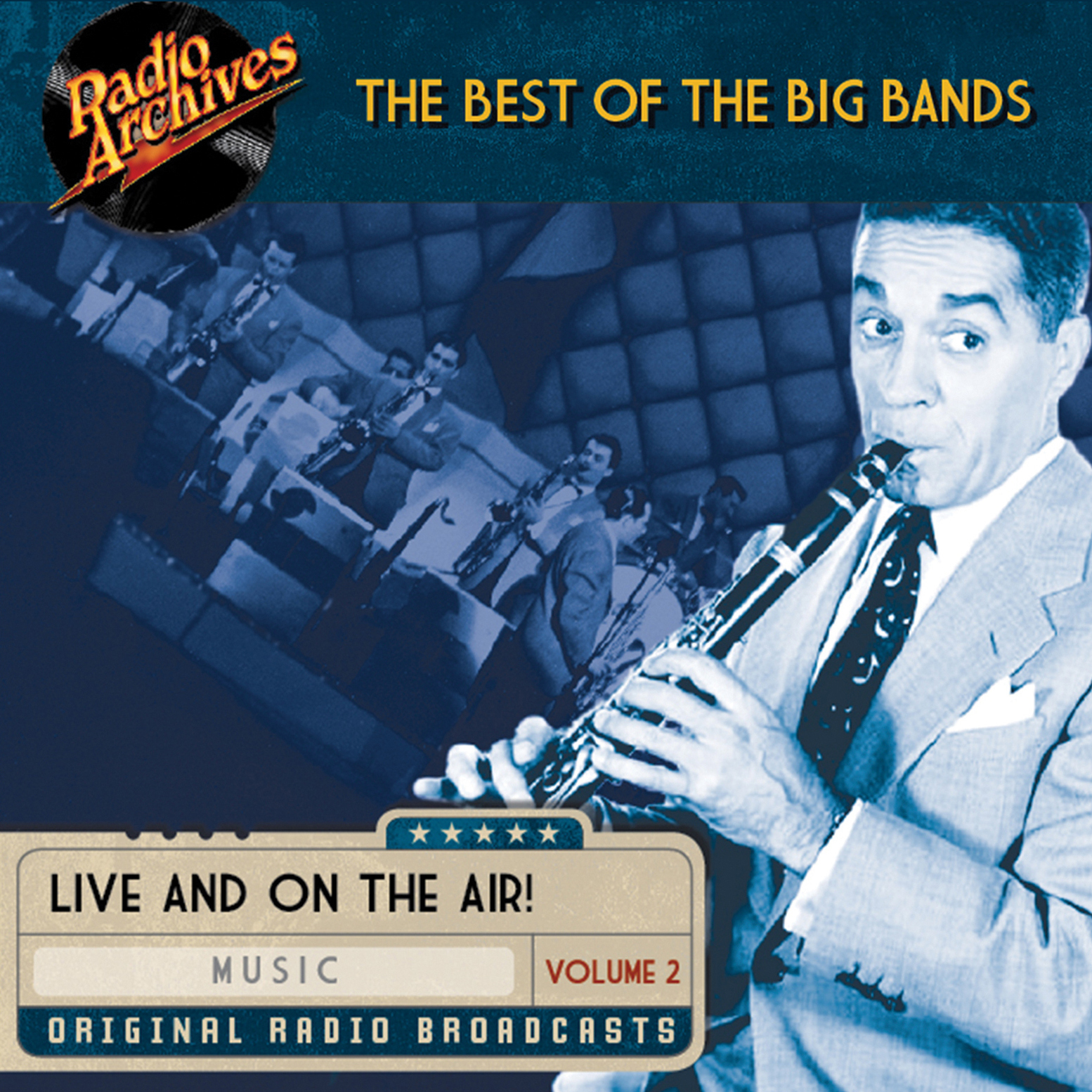 Printable Best of the Big Bands, Volume 2 Audiobook Cover Art