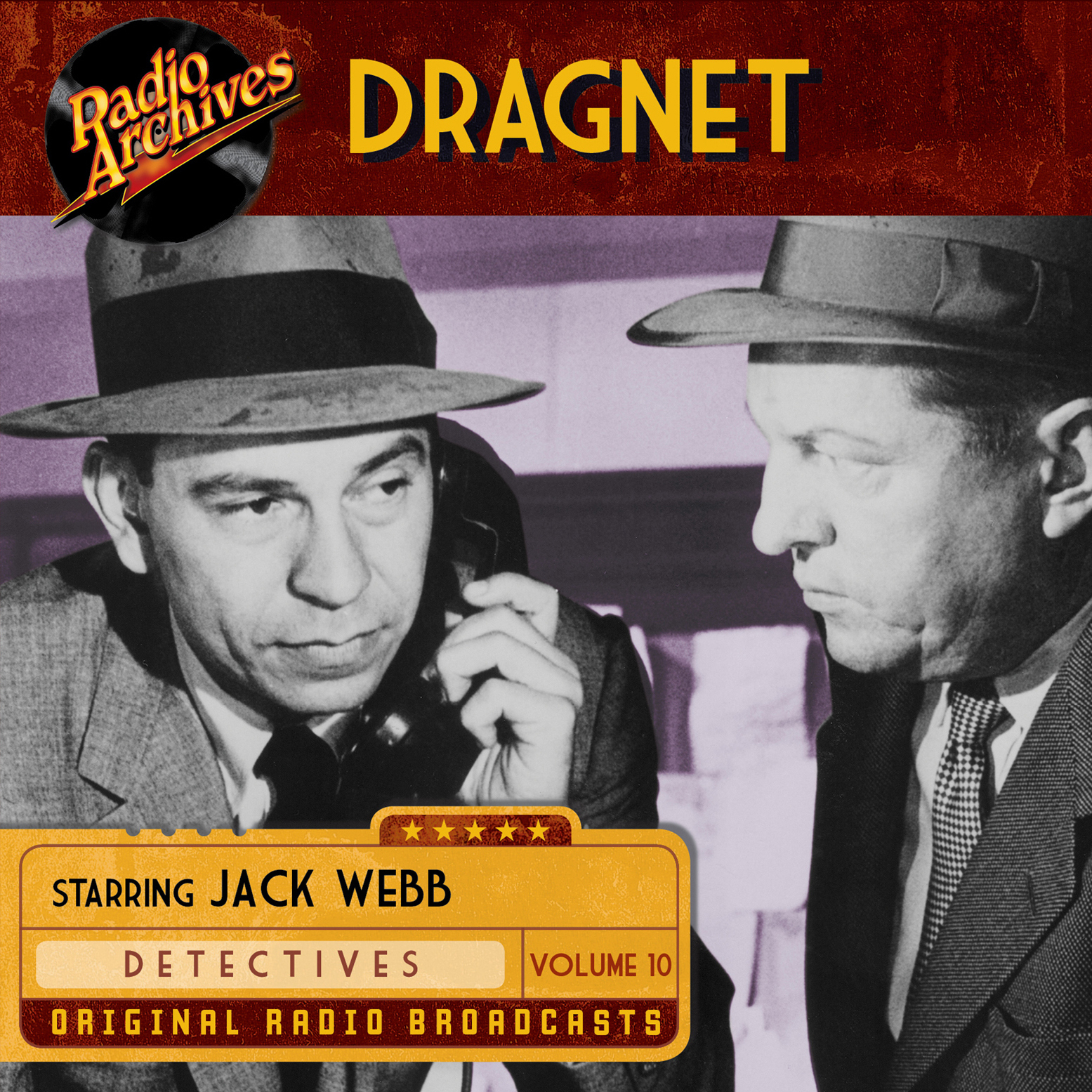 Printable Dragnet, Volume 10 Audiobook Cover Art
