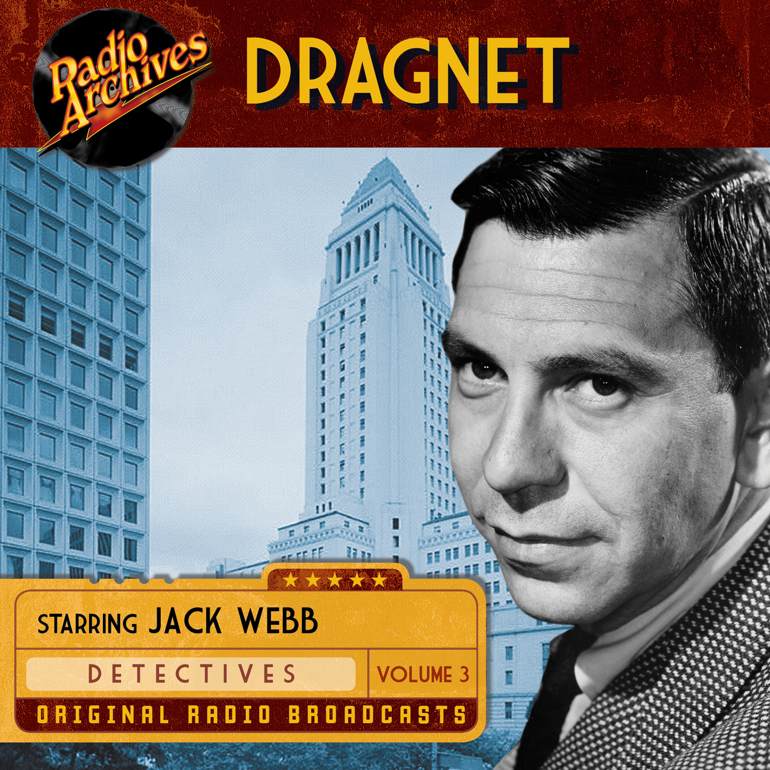 Printable Dragnet, Volume 3 Audiobook Cover Art