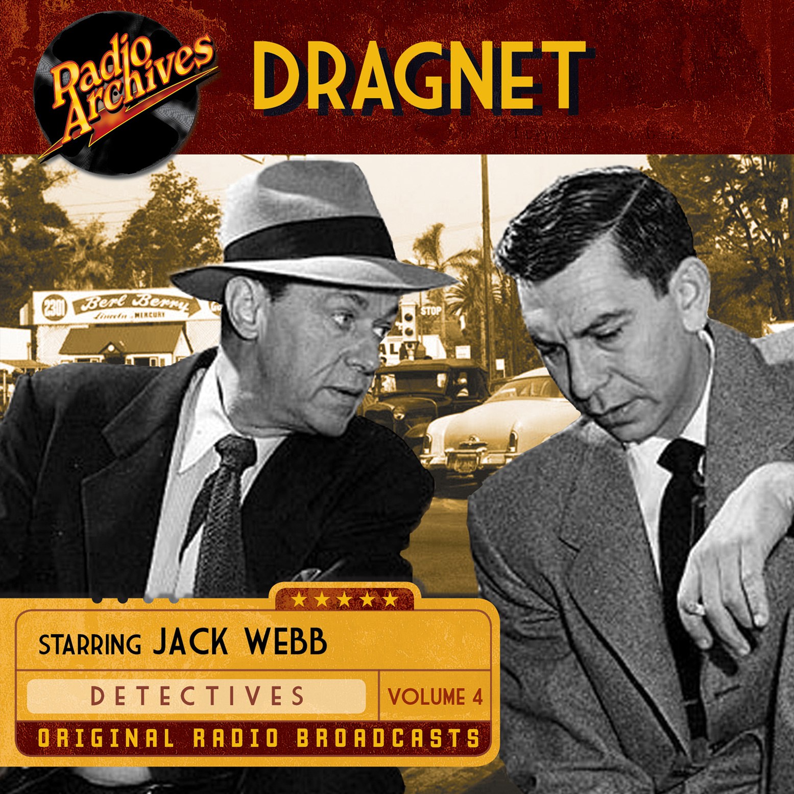 Printable Dragnet, Volume 4 Audiobook Cover Art