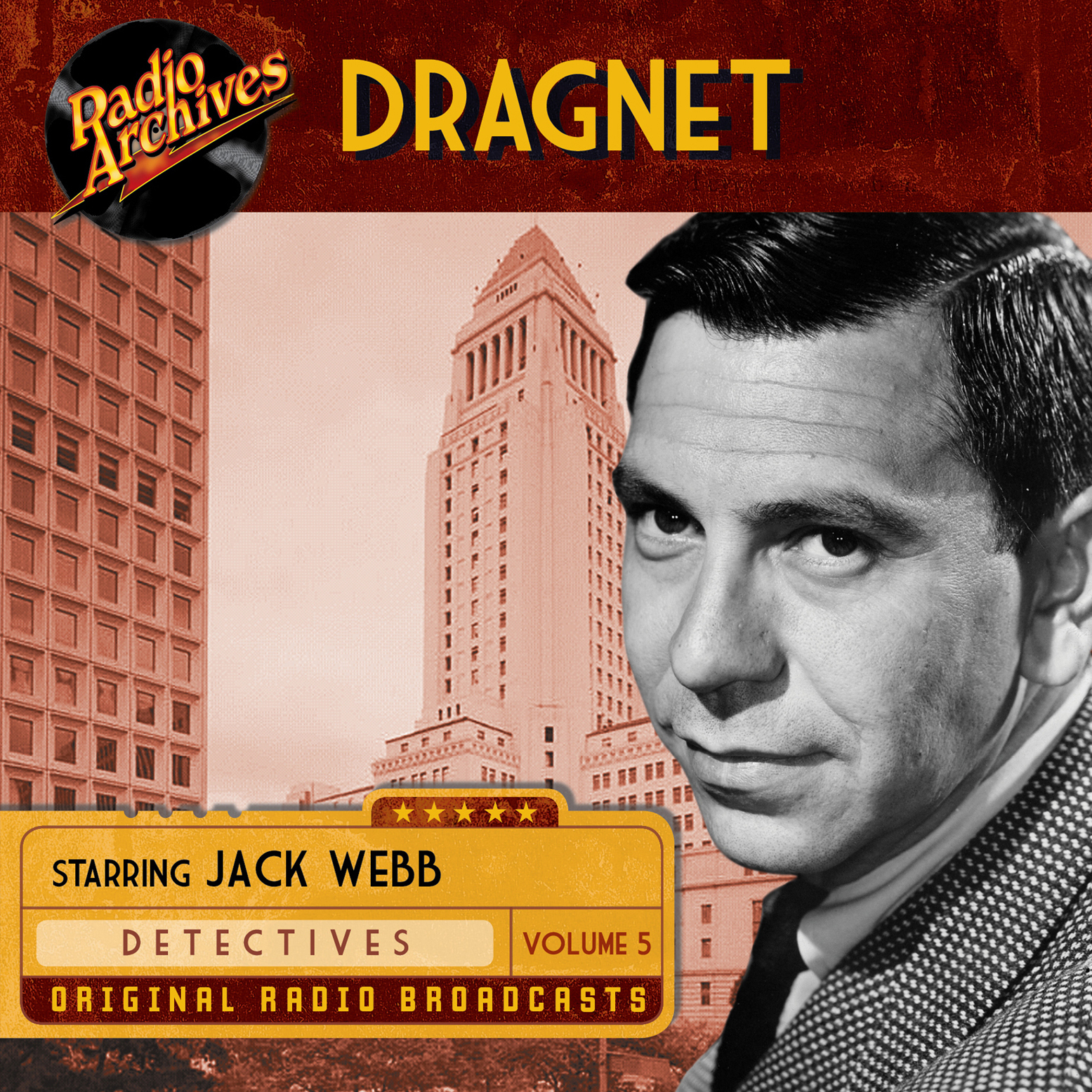 Printable Dragnet, Volume 5 Audiobook Cover Art