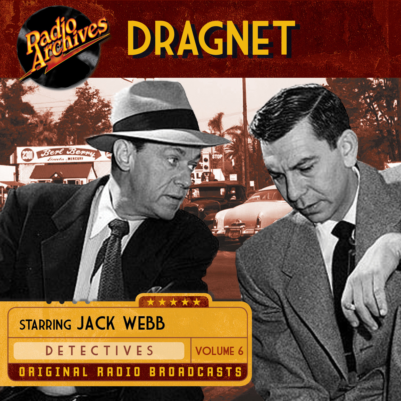 Printable Dragnet, Volume 6 Audiobook Cover Art