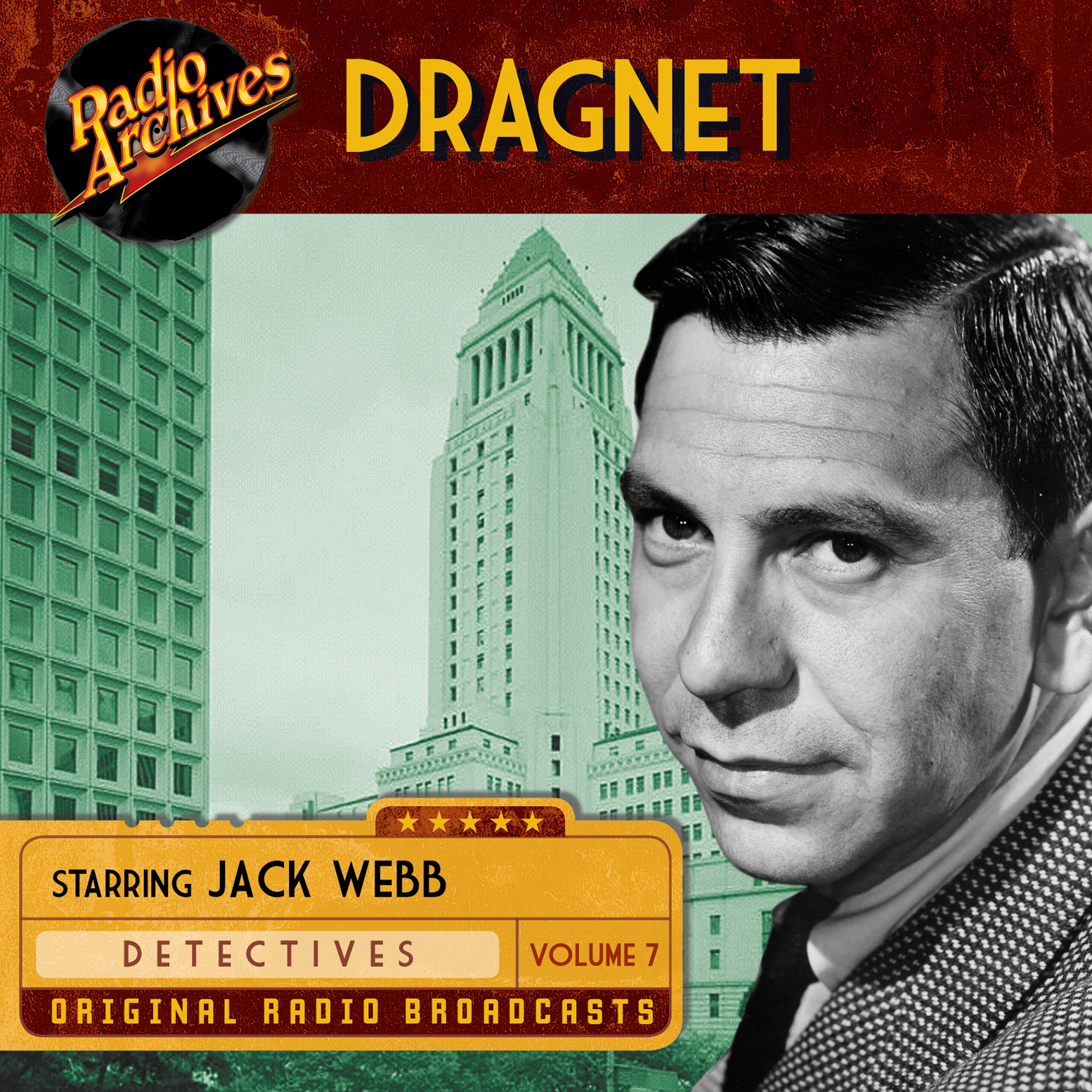 Printable Dragnet, Volume 7 Audiobook Cover Art