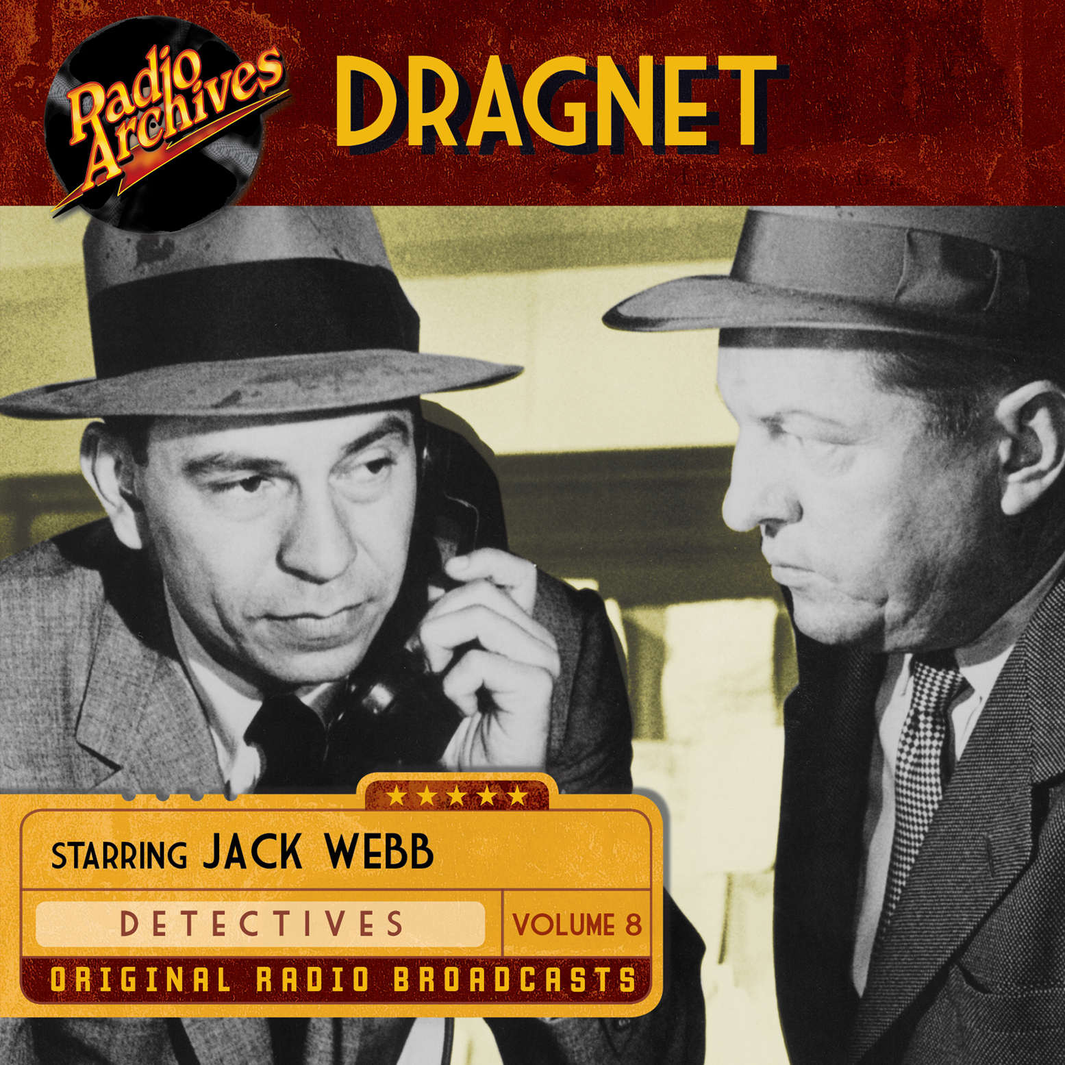 Printable Dragnet, Volume 8 Audiobook Cover Art