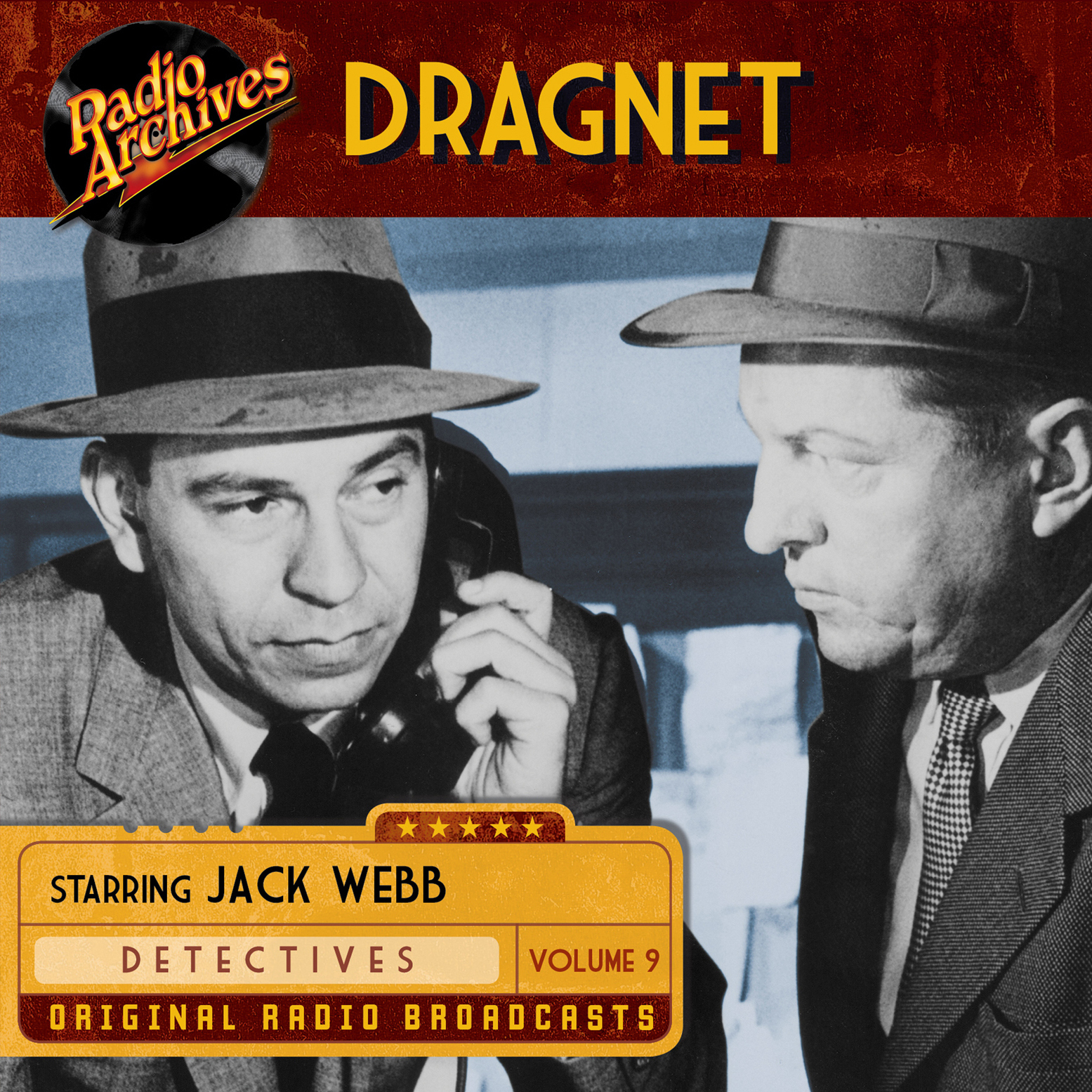 Printable Dragnet, Volume 9 Audiobook Cover Art