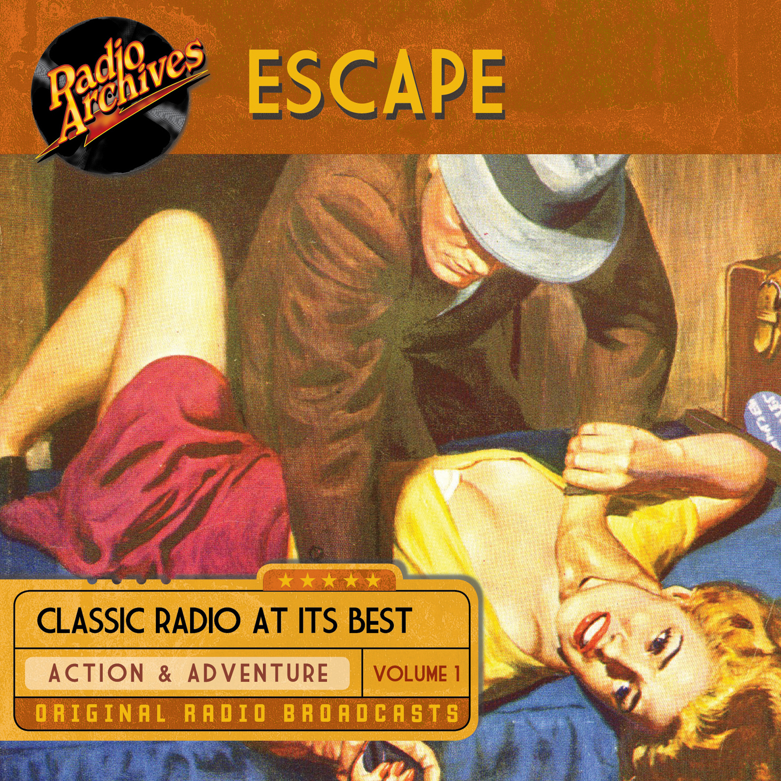 Printable Escape, Volume 1 Audiobook Cover Art