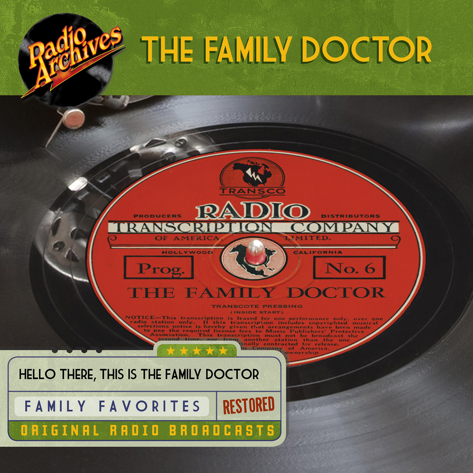 Printable Family Doctor Audiobook Cover Art