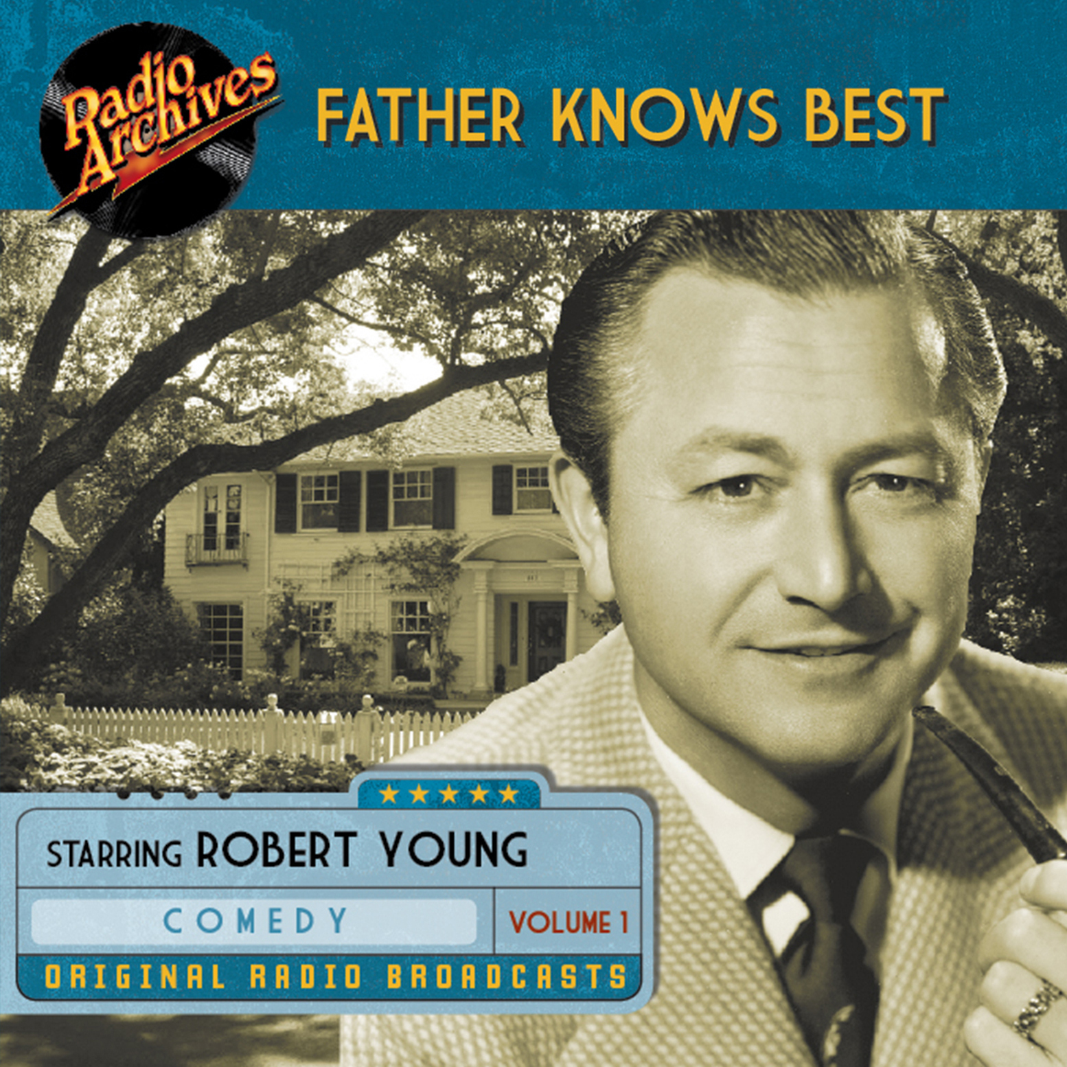 Printable Father Knows Best, Volume 1 Audiobook Cover Art