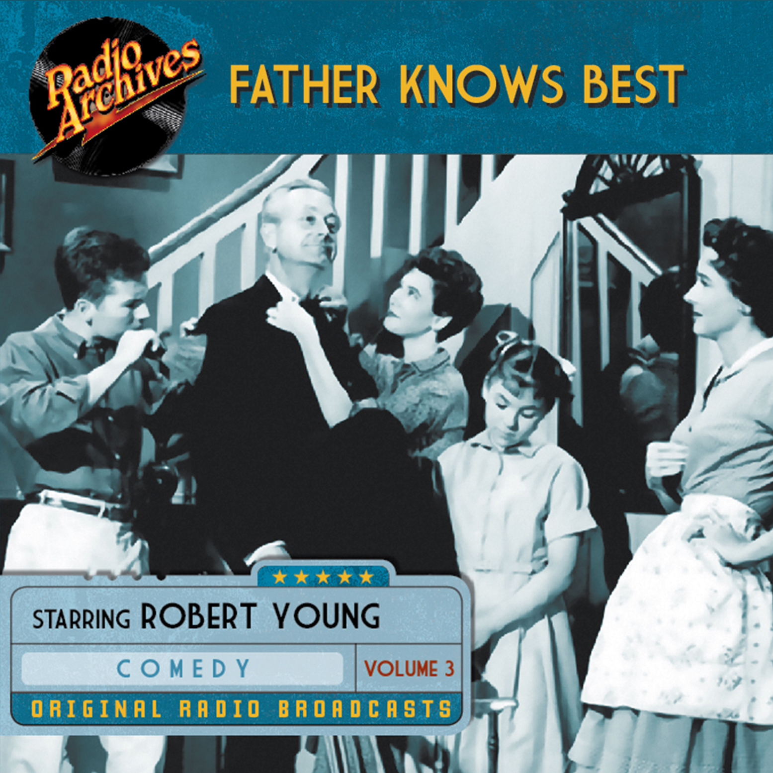 Printable Father Knows Best, Volume 3 Audiobook Cover Art
