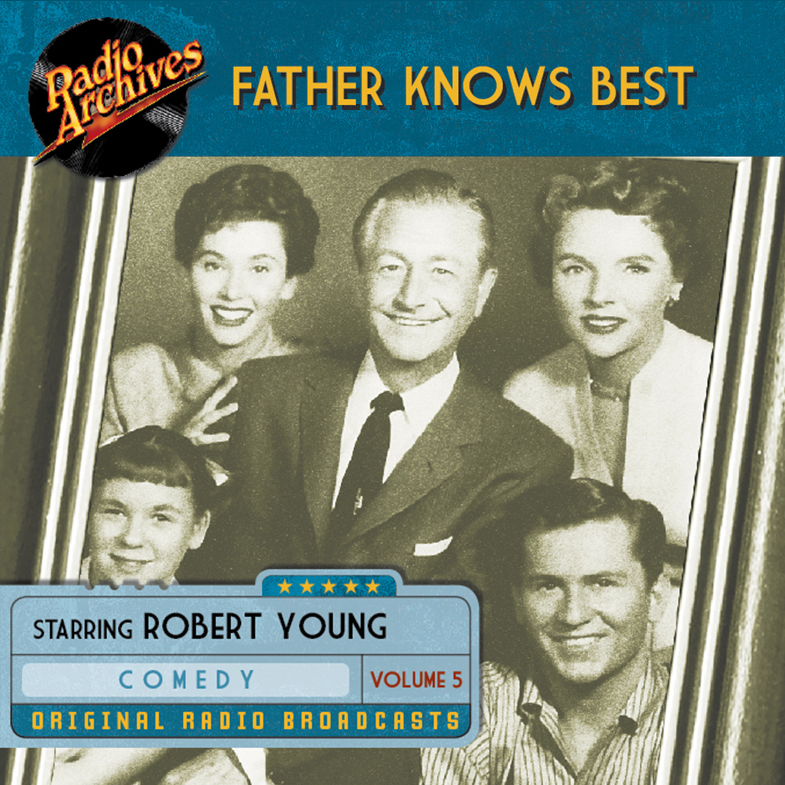 Printable Father Knows Best, Volume 5 Audiobook Cover Art