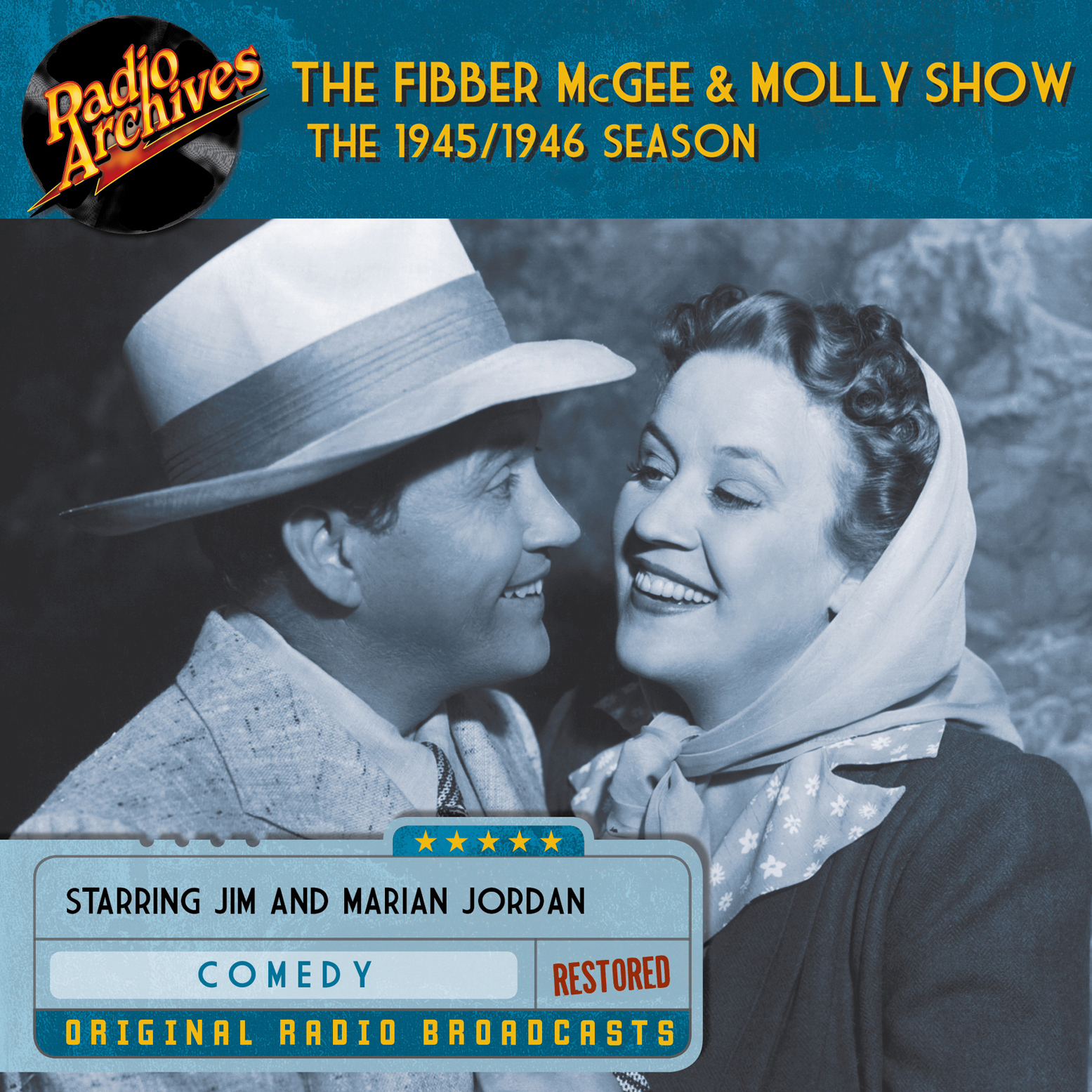 Printable Fibber McGee and Molly Show: The 1945–1946 Season Audiobook Cover Art
