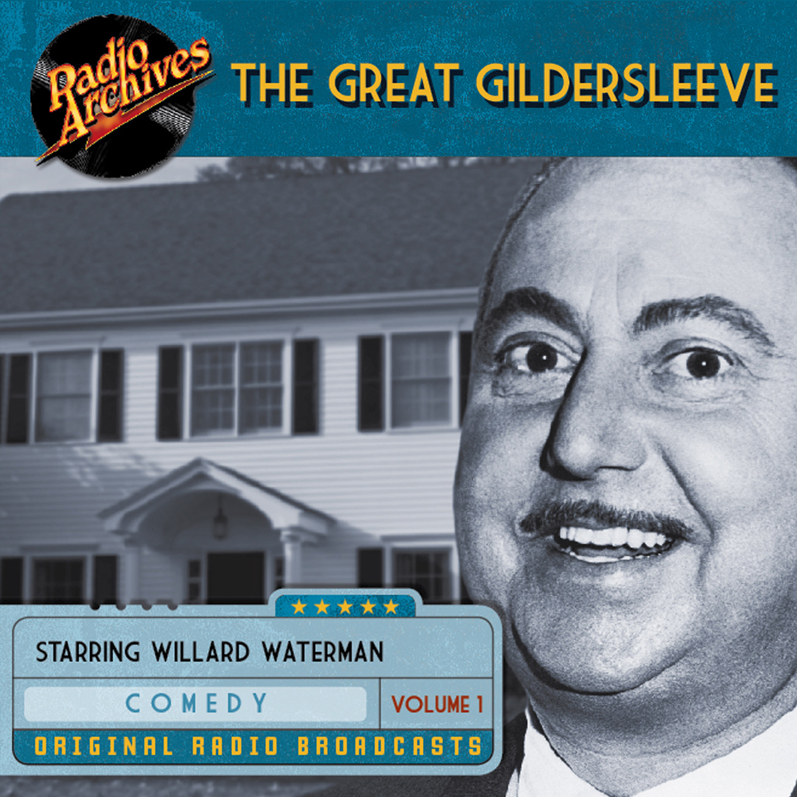 Printable Great Gildersleeve, Volume 1 Audiobook Cover Art