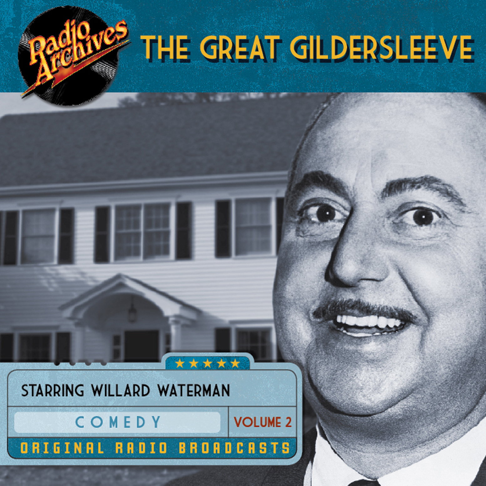 Printable Great Gildersleeve, Volume 2 Audiobook Cover Art