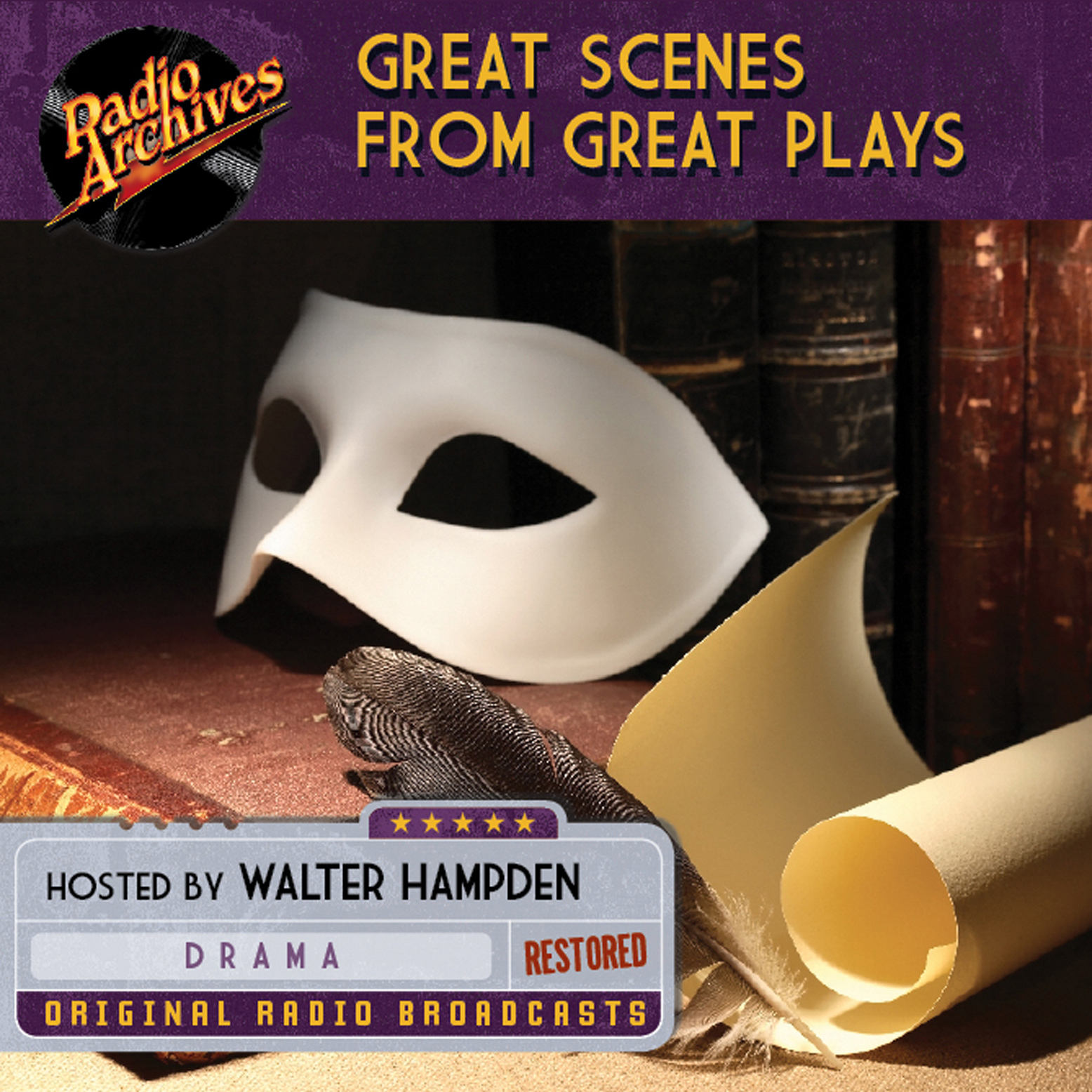 Printable Great Scenes from Great Plays Audiobook Cover Art