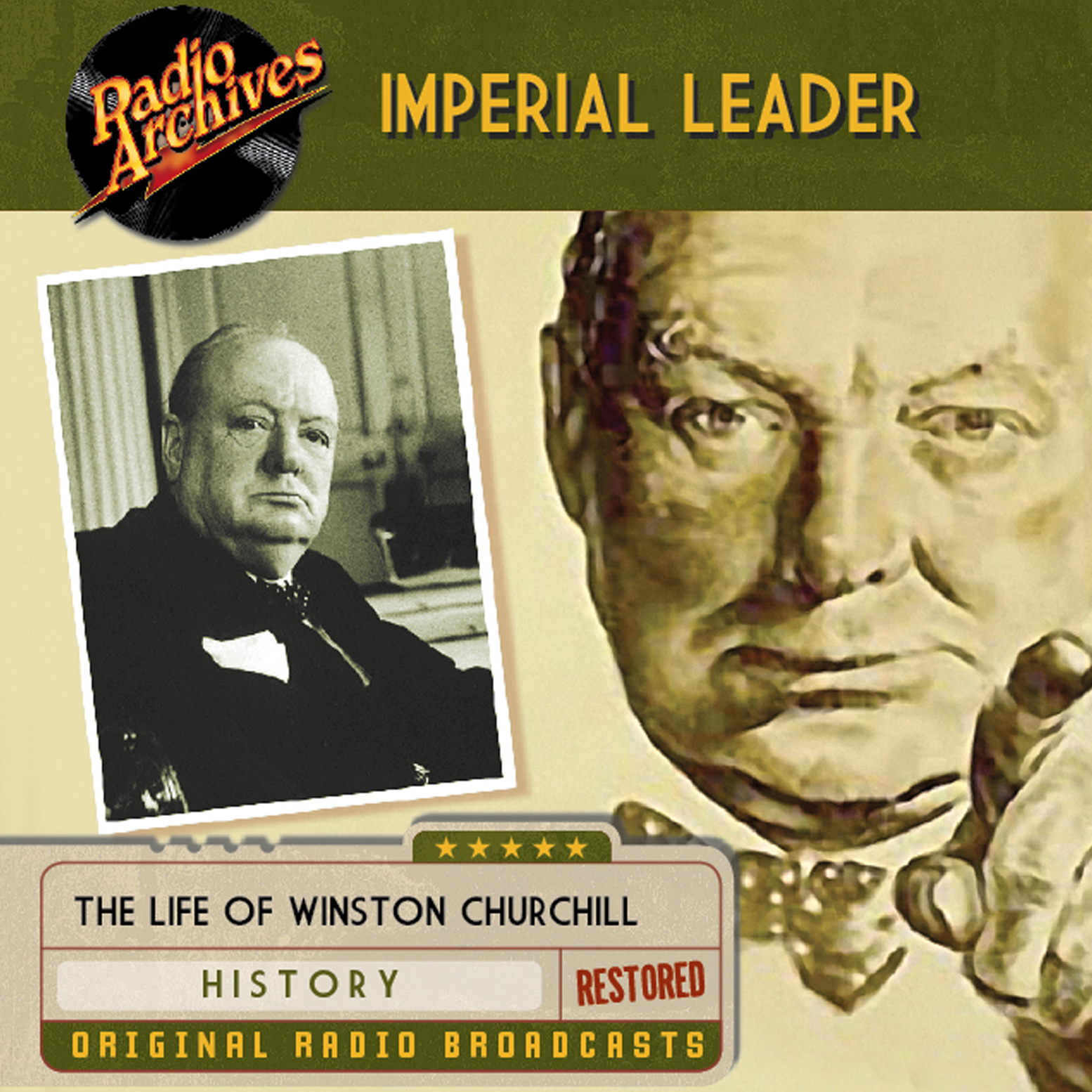 Printable Imperial Leader Audiobook Cover Art