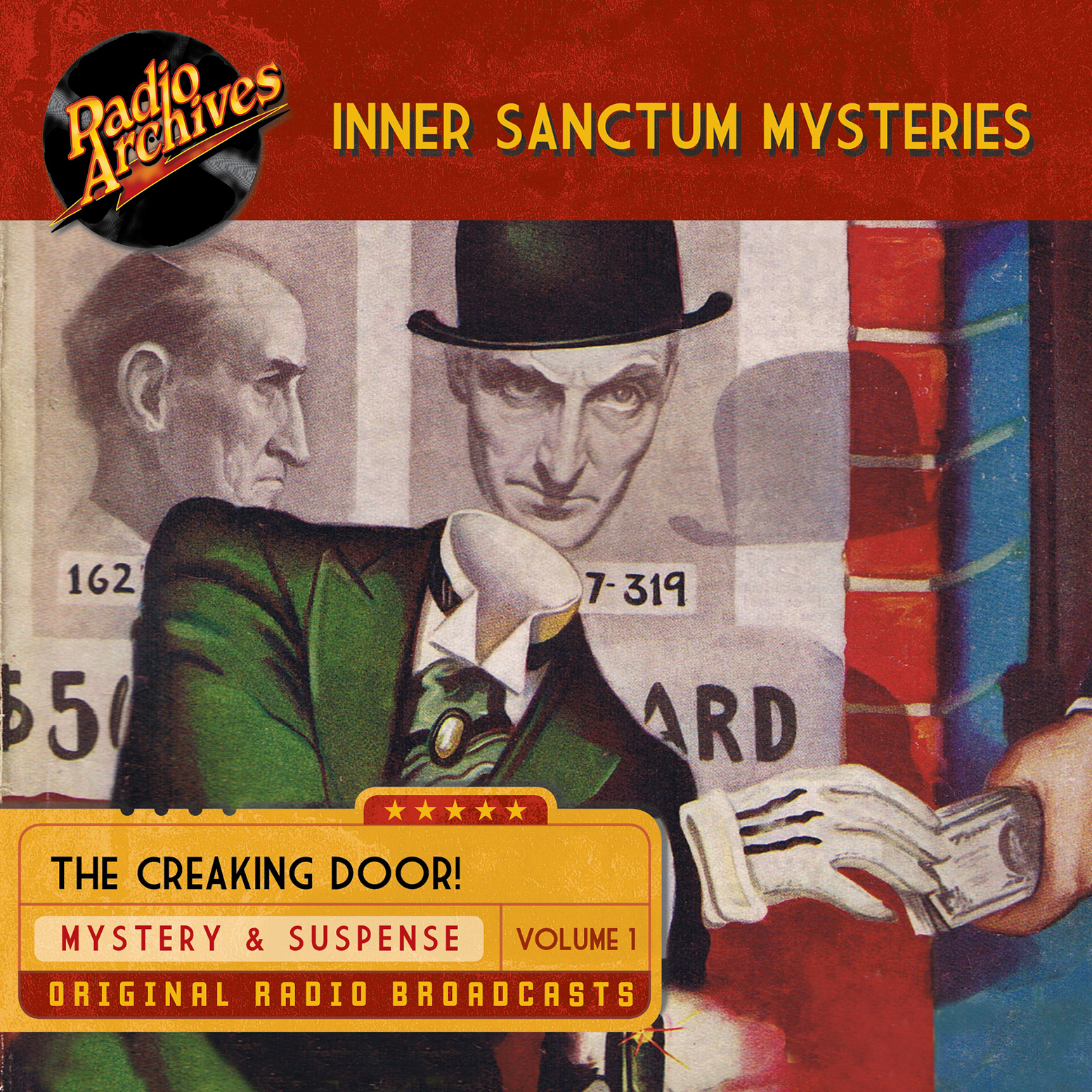 Printable Inner Sanctum Mysteries, Vol. 1 Audiobook Cover Art